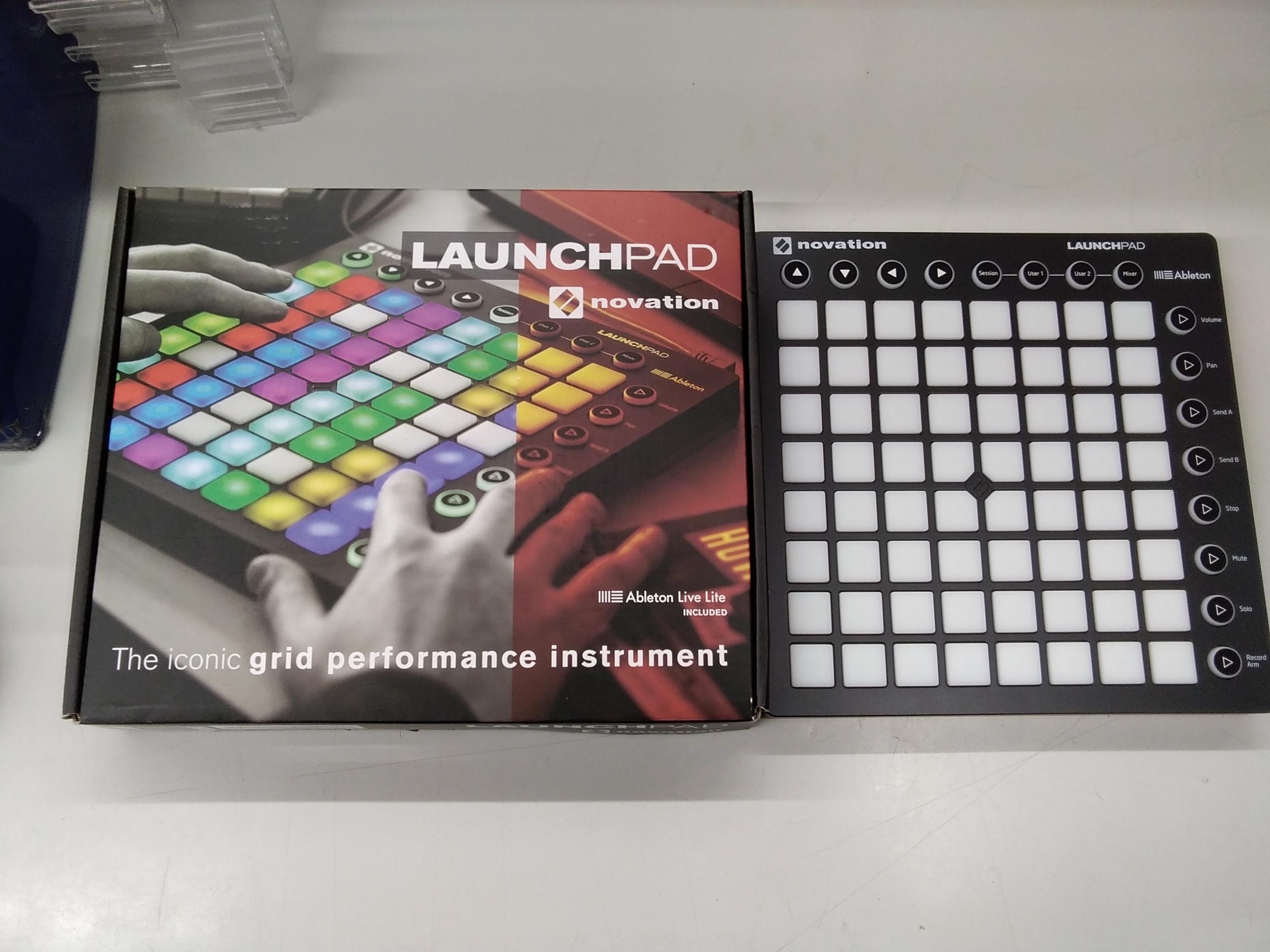 MIDIコントローラー LaunchPad MKII|NOVATION