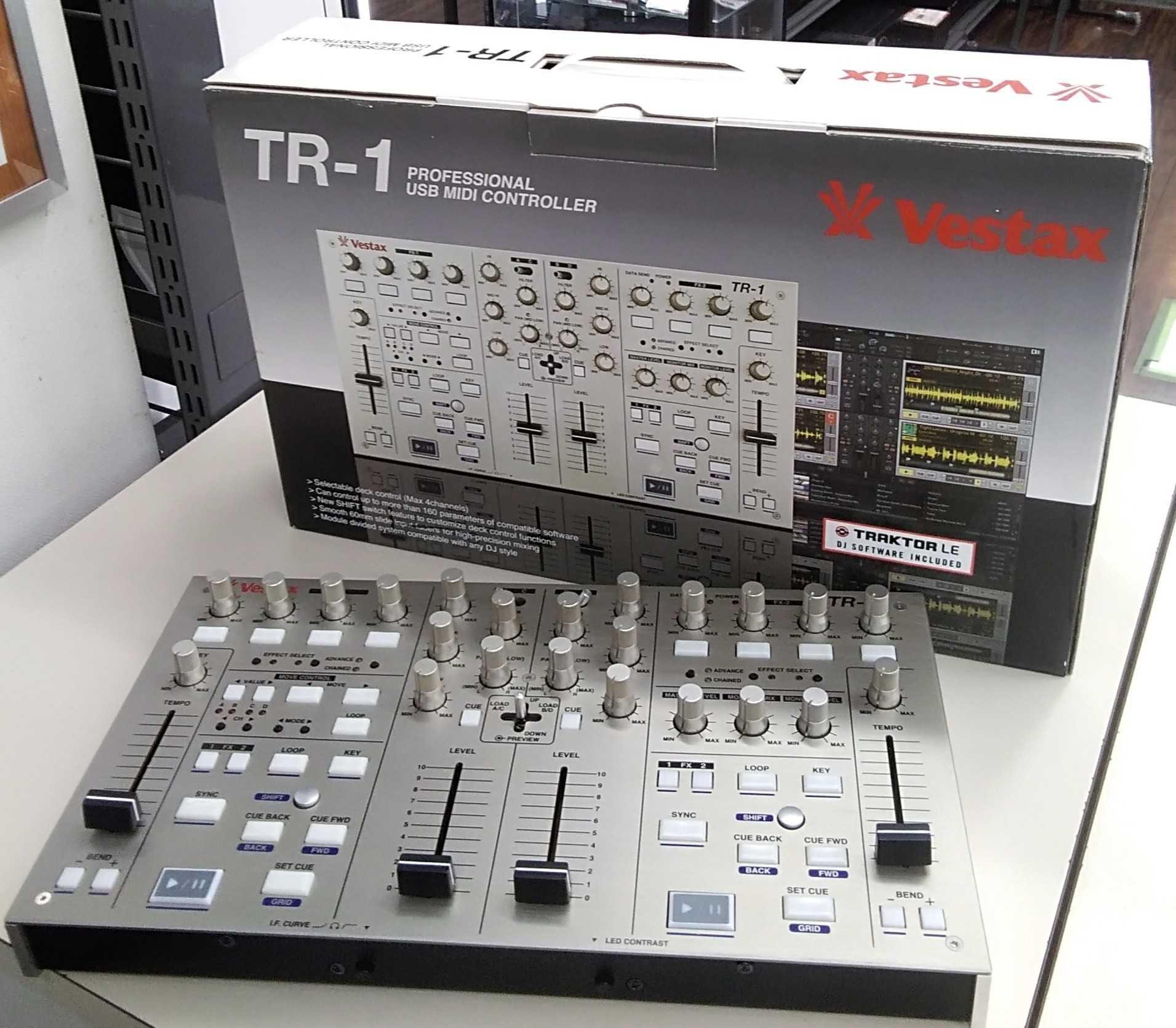 MIDIコントローラー|VESTAX