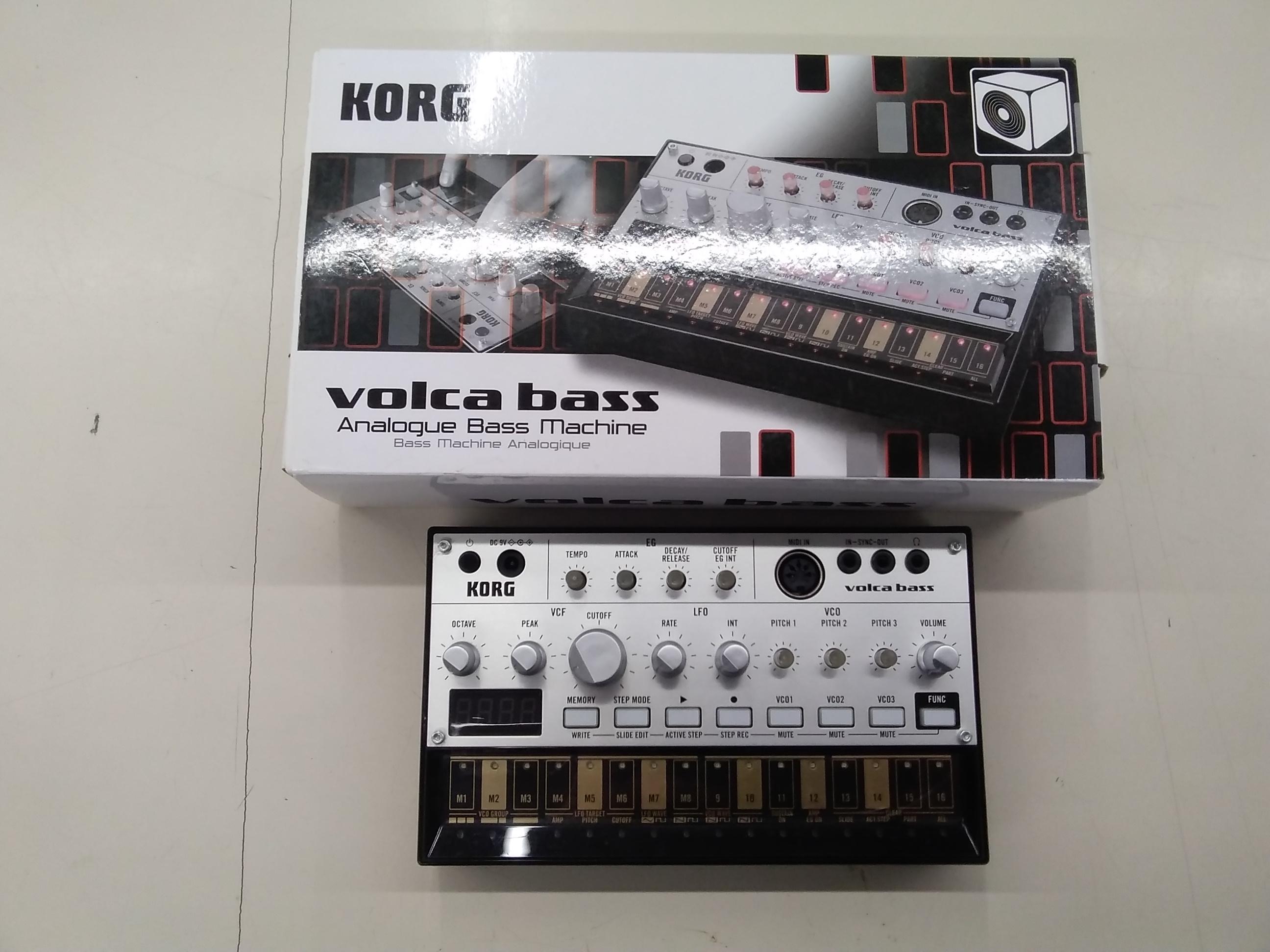 アナログベースマシン volca bass KORG