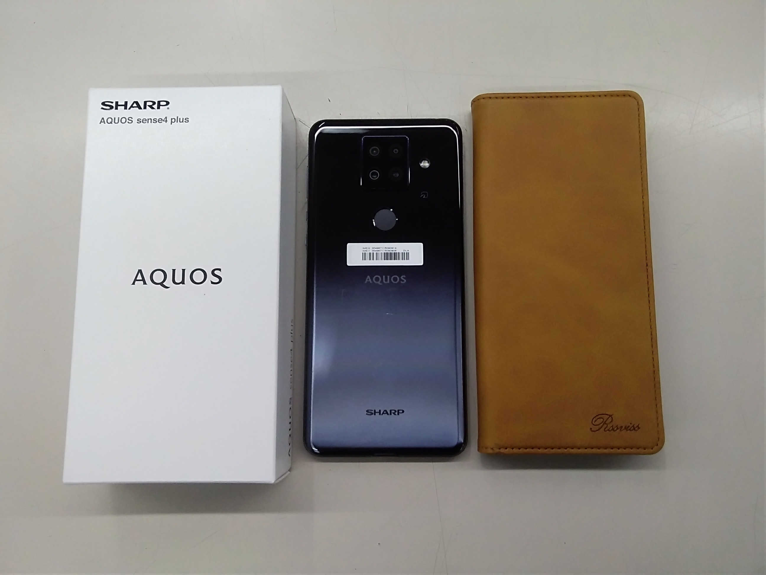 SIMフリー 2020年 AQUOS sense4 plus|SHARP