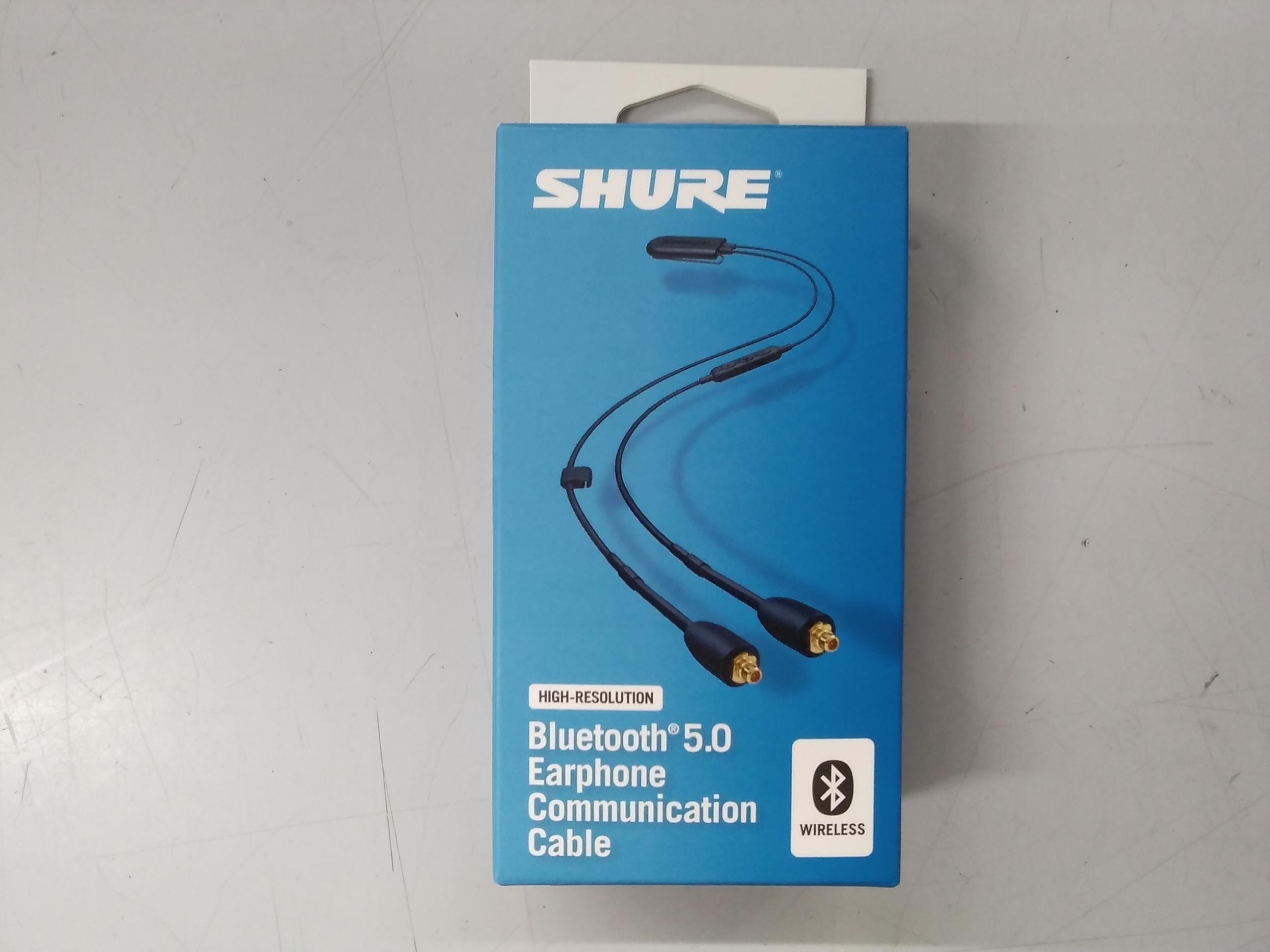 ワイヤレス リケーブル Bluetooth SHURE
