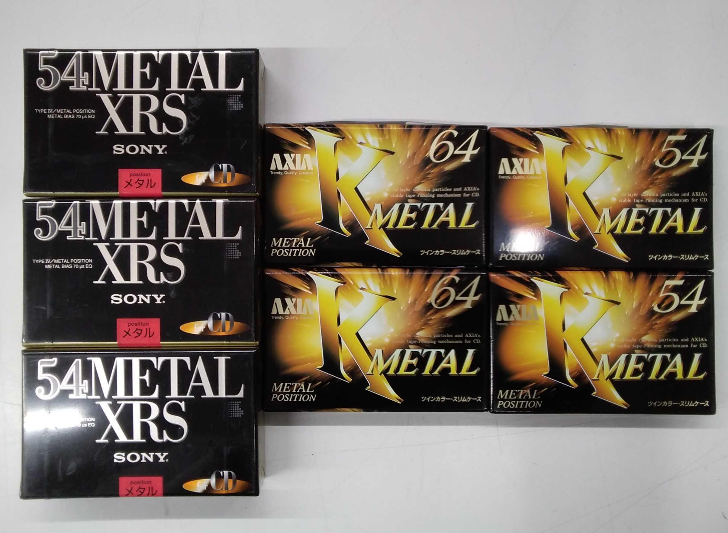 カセットテープセット|SONY,AXIA