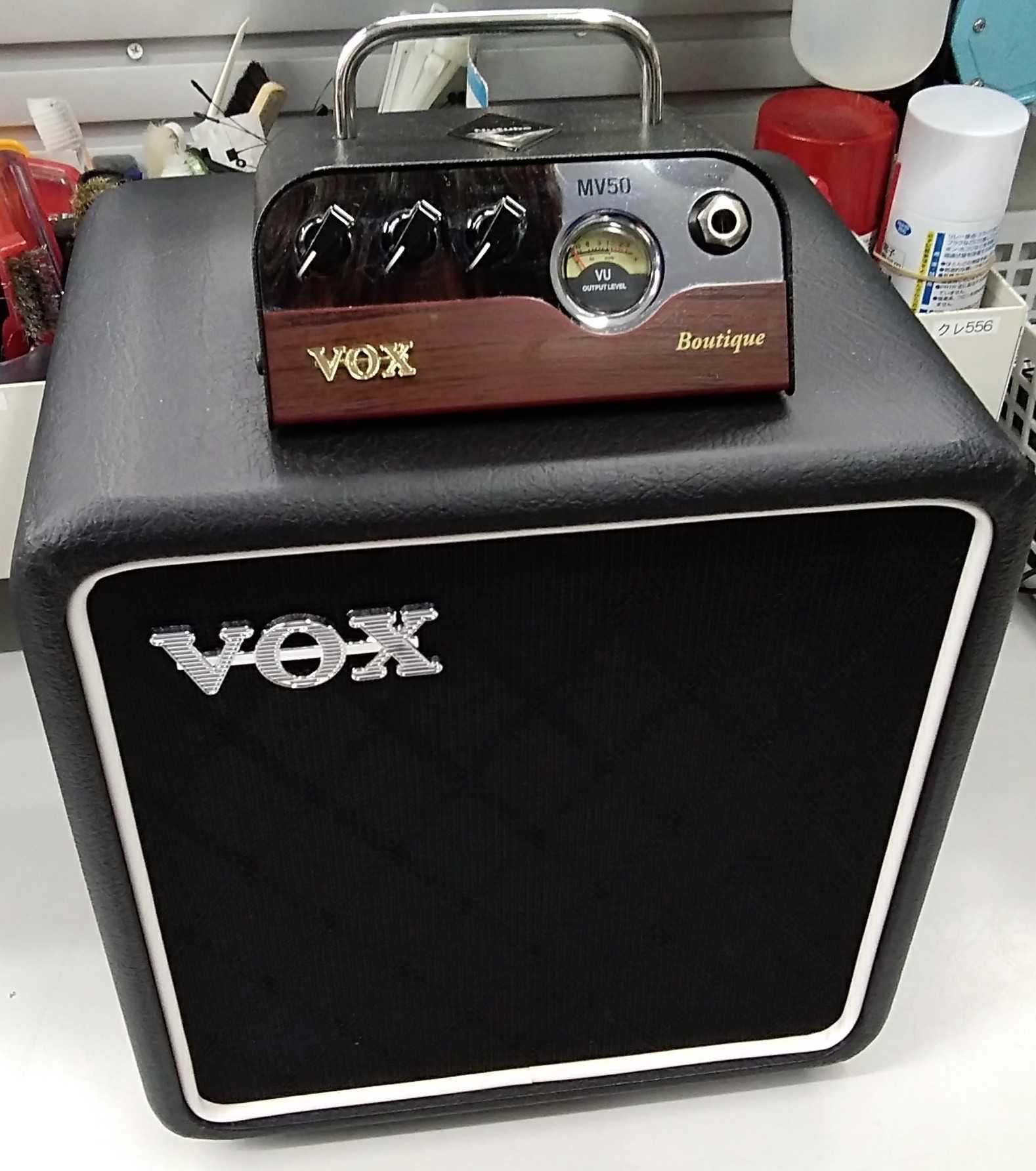ギターヘッドアンプ/キャビネット|VOX