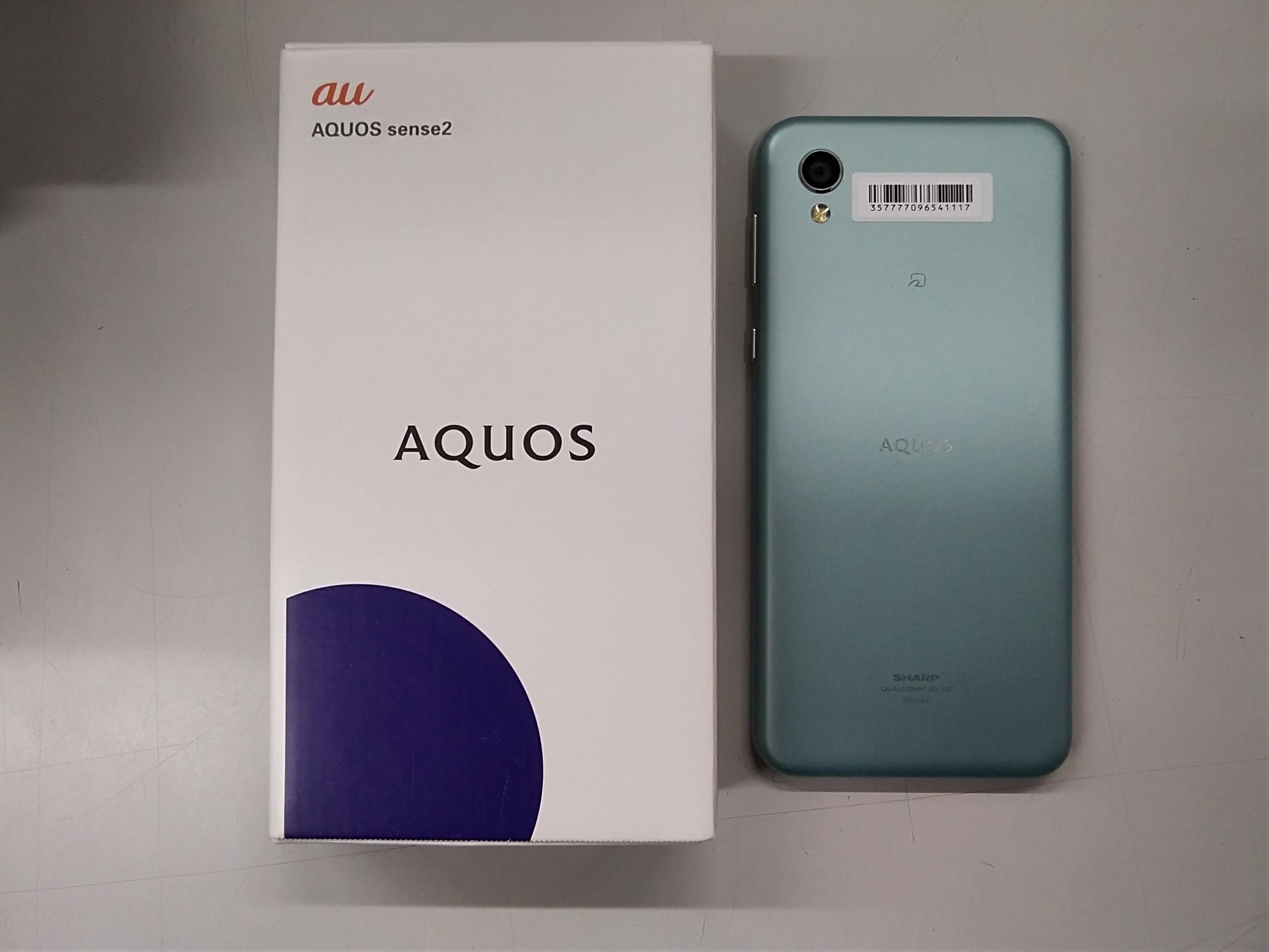 スマートフォン AQUOS sense2|AU