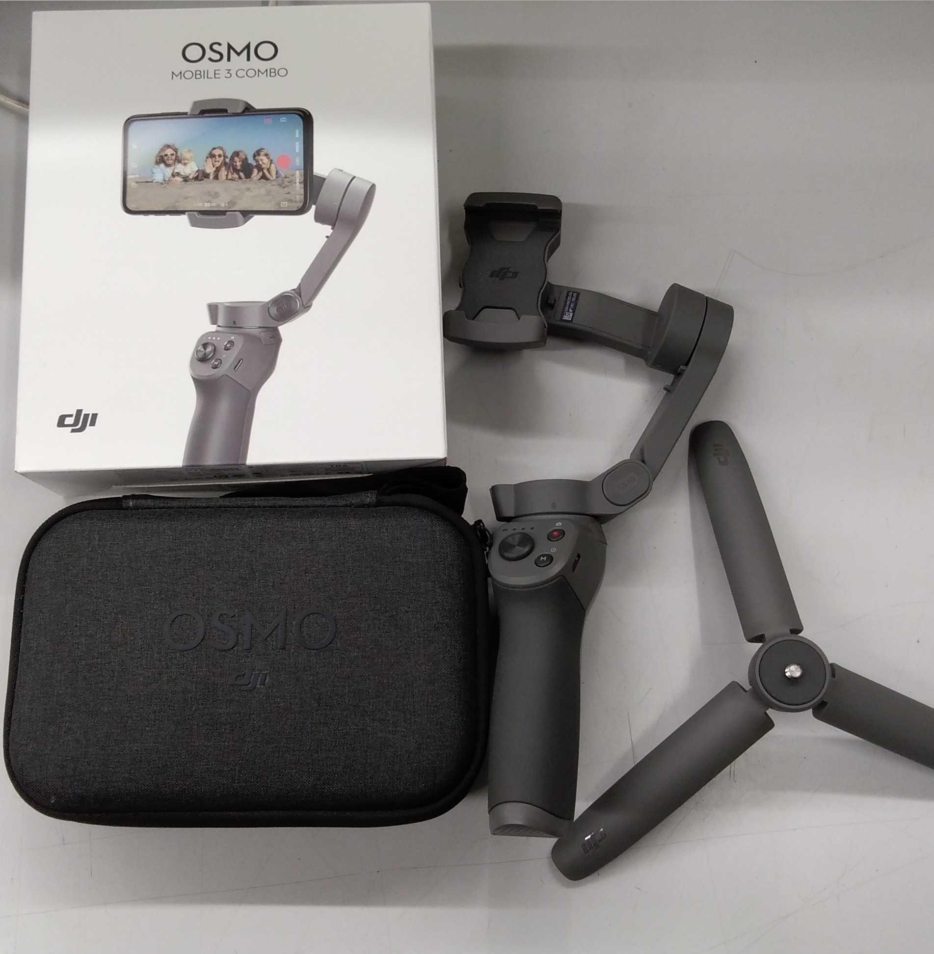 グリップ式三脚/ジンバル OSMO MOBILE3|DJI