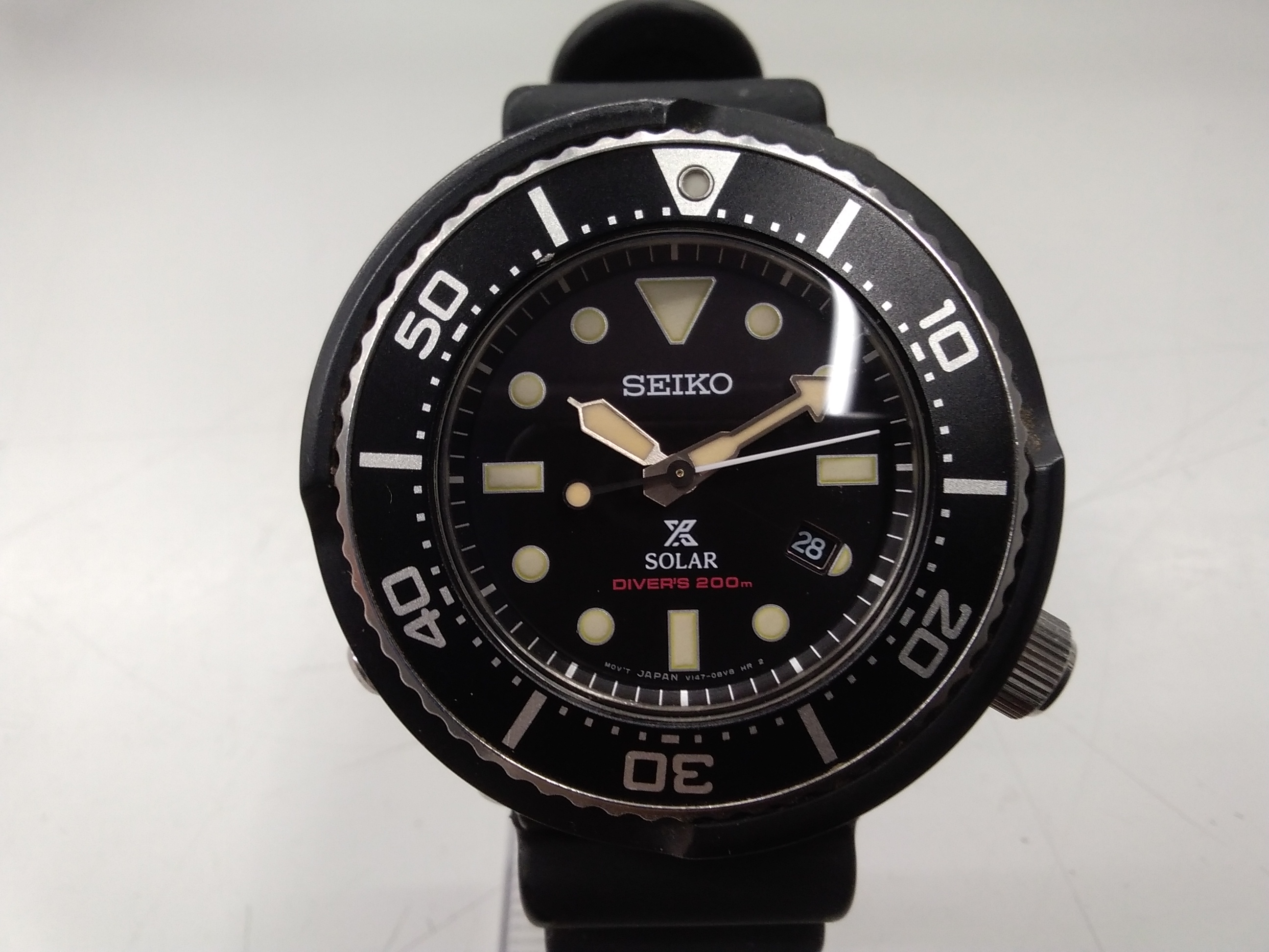 ソーラー充電腕時計 プロスペックス ダイバースキューバ|SEIKO