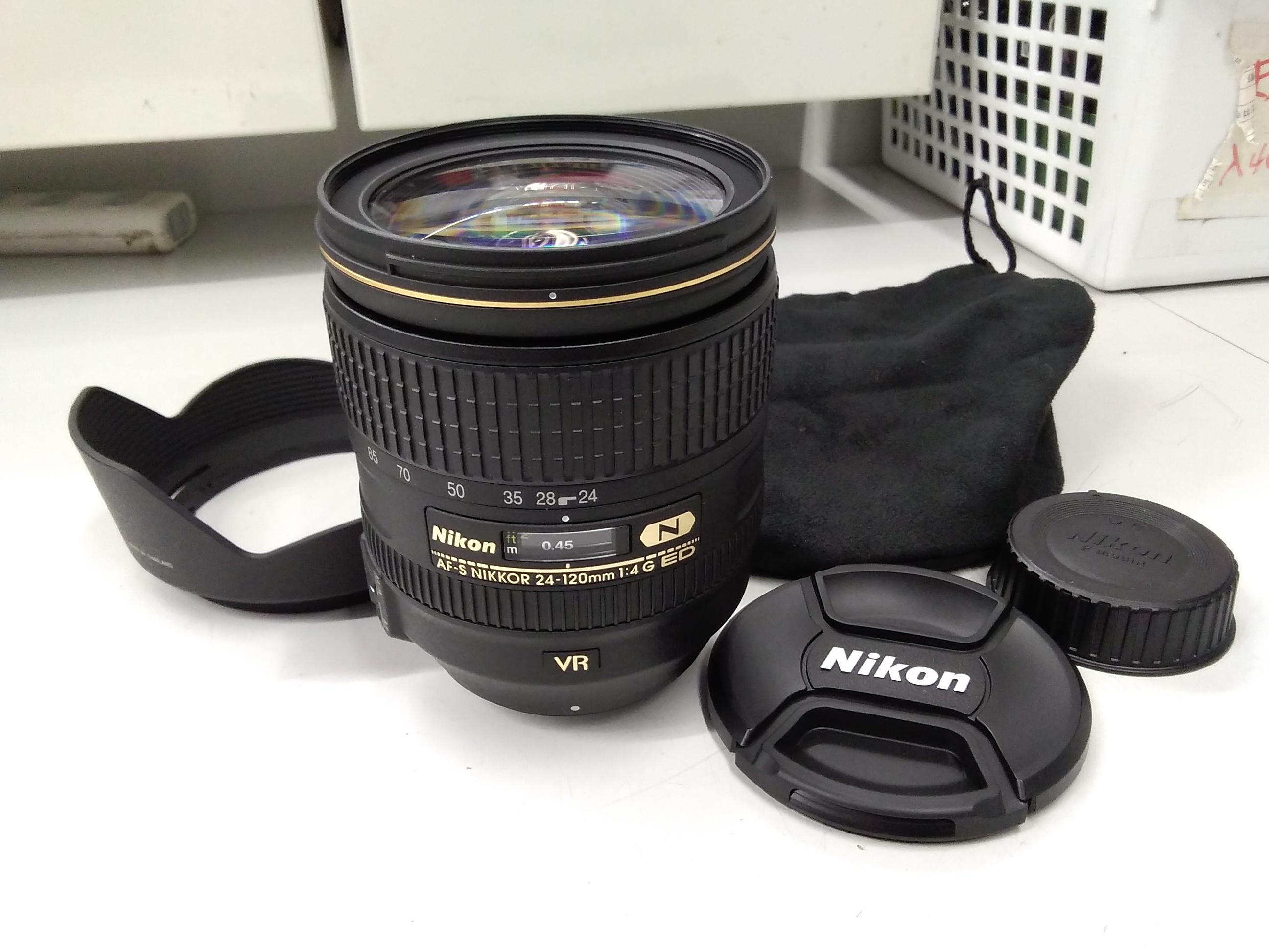 標準ズームレンズ 24-120mm f/4G ED VR|NIKON