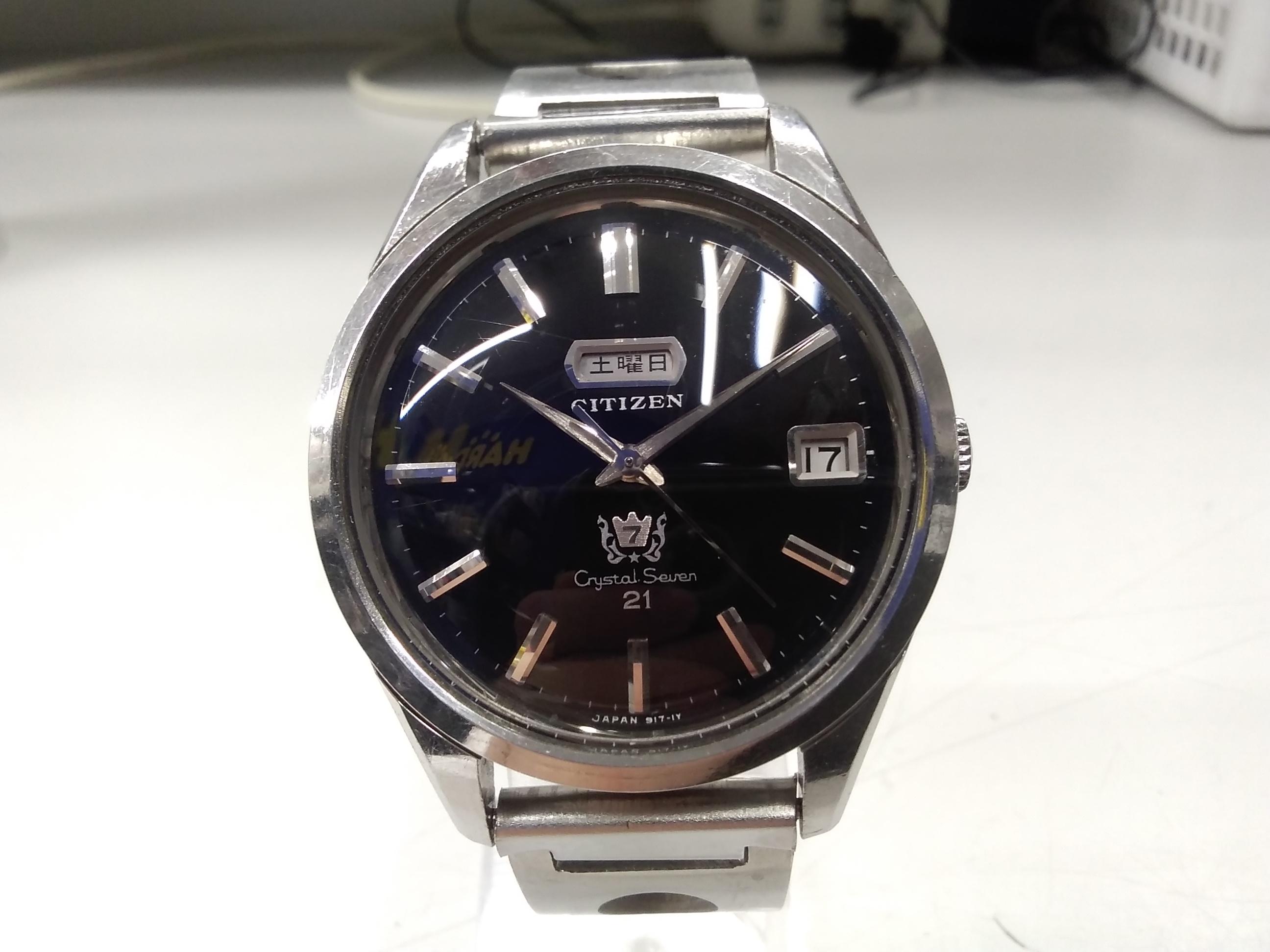 自動巻き腕時計 クリスタルセブン|CITIZEN