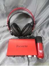 オーディオインターフェース/コンデンサマイク/ヘッドホン|FOCUSRITE