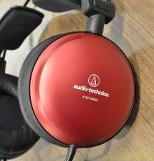 密閉型スタジオモニターヘッドフォン|AUDIO-TECHNICA