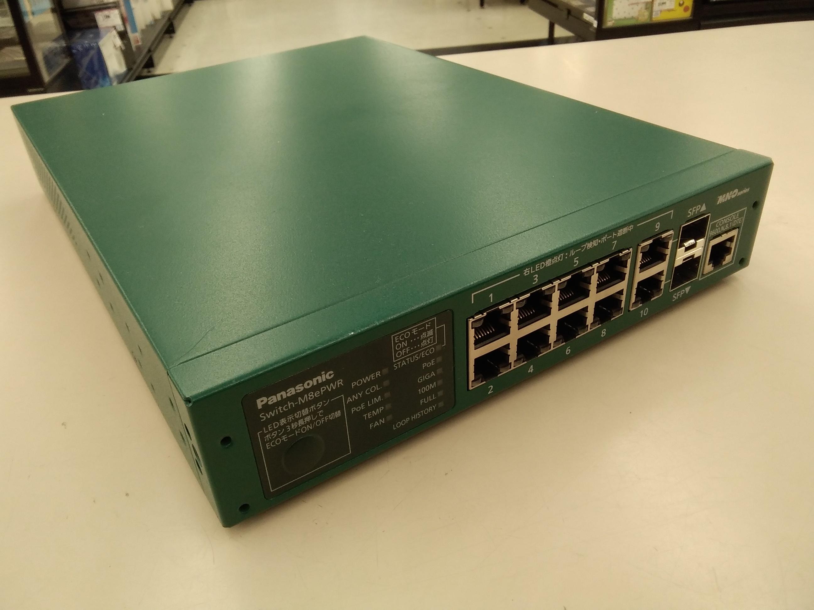 PN27089/POE給電スイッチングハブ|PANASONIC