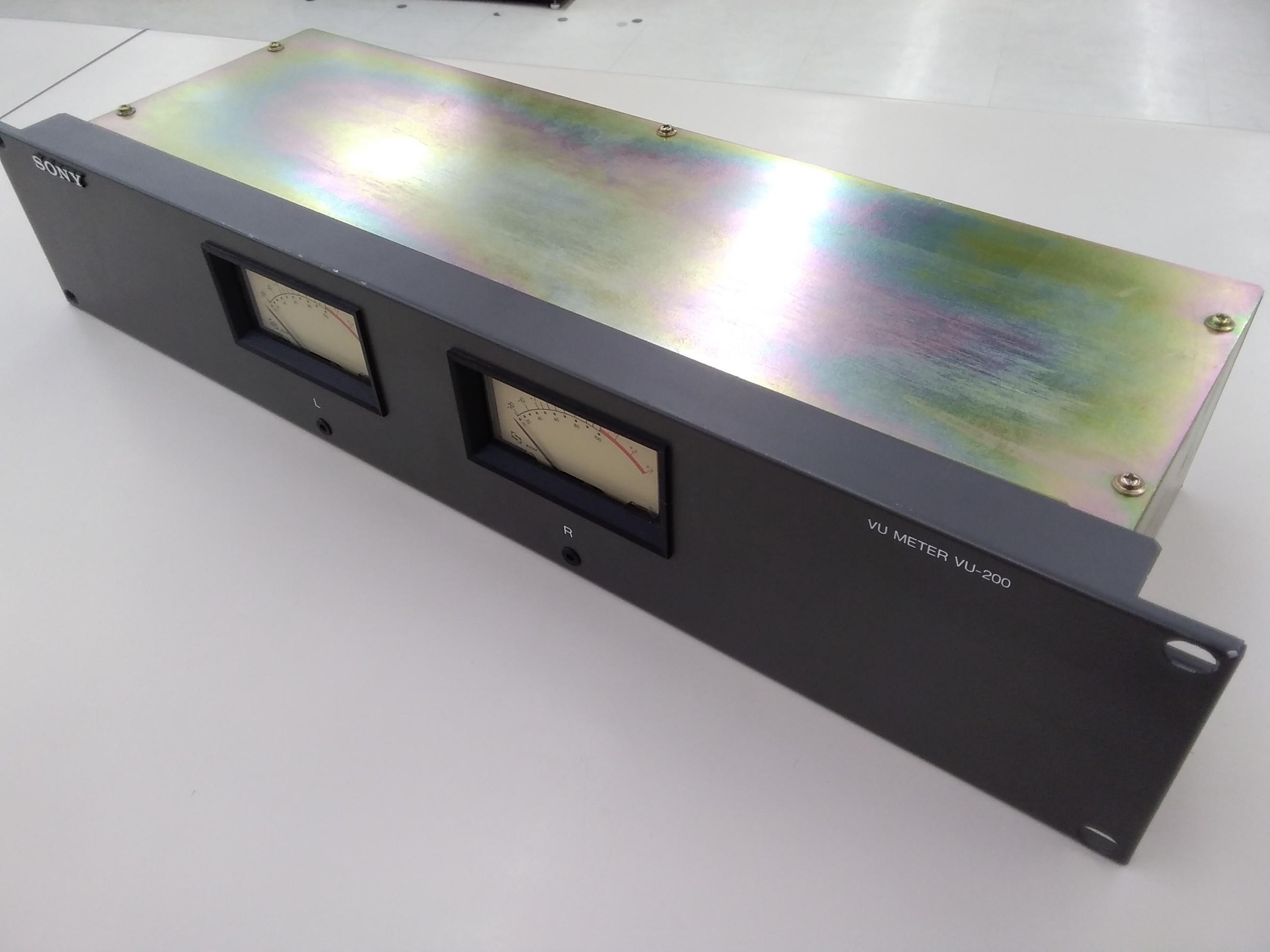 (ジャンク)VUメーター/VU-200|SONY