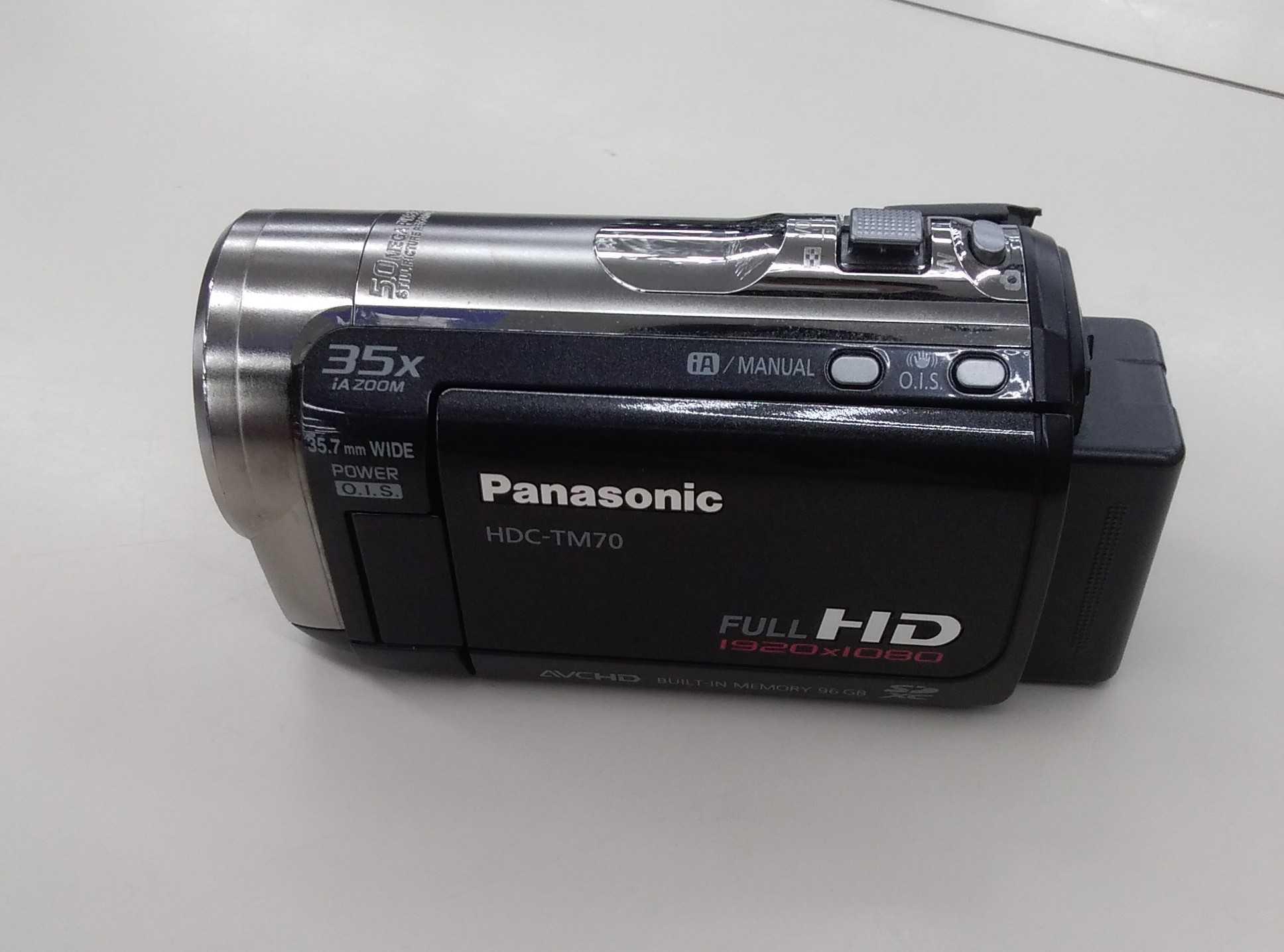 メモリムービーカメラ|PANASONIC