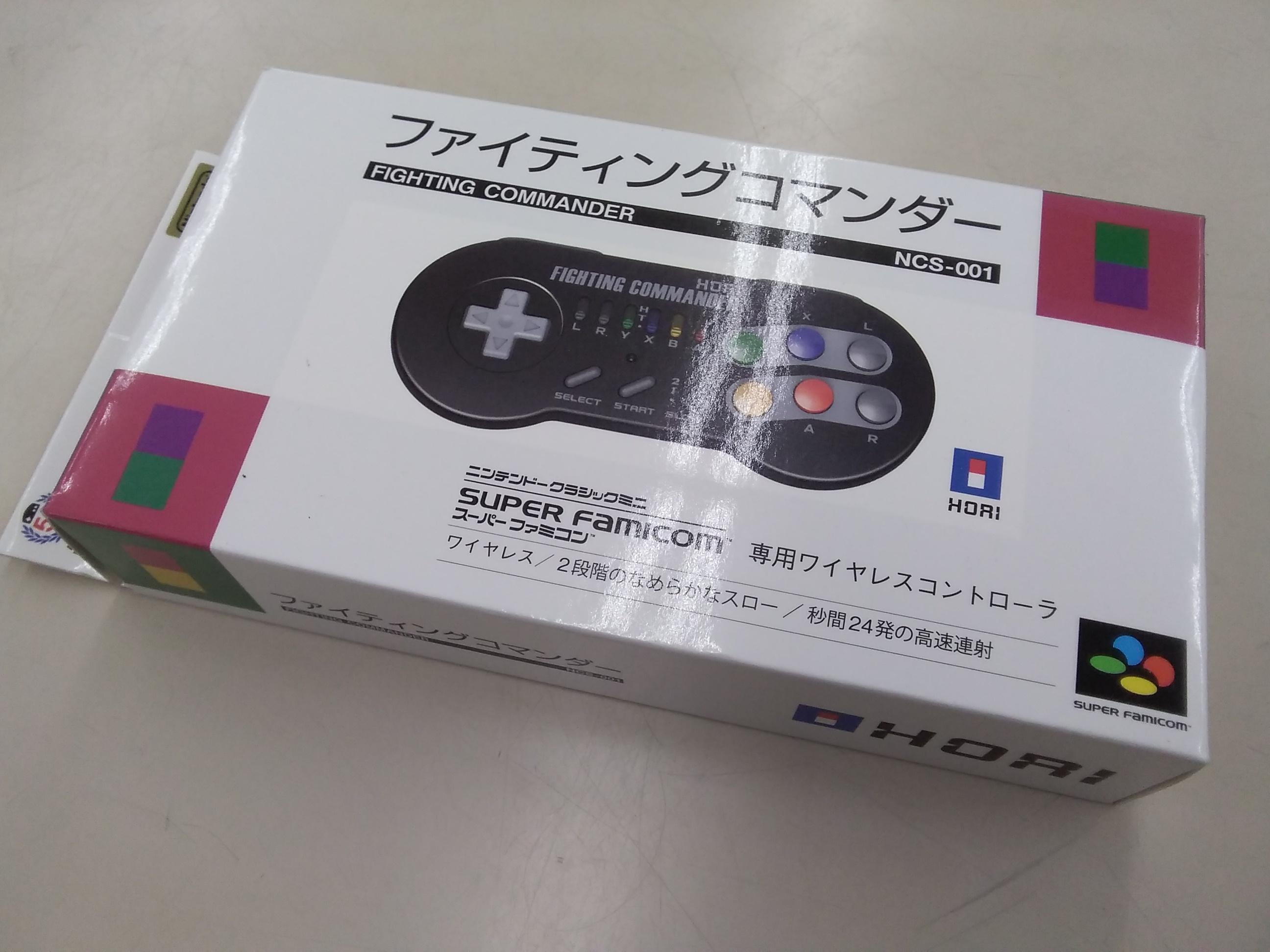 クラシックミニSFC用コントローラー/NCS-001|HORI