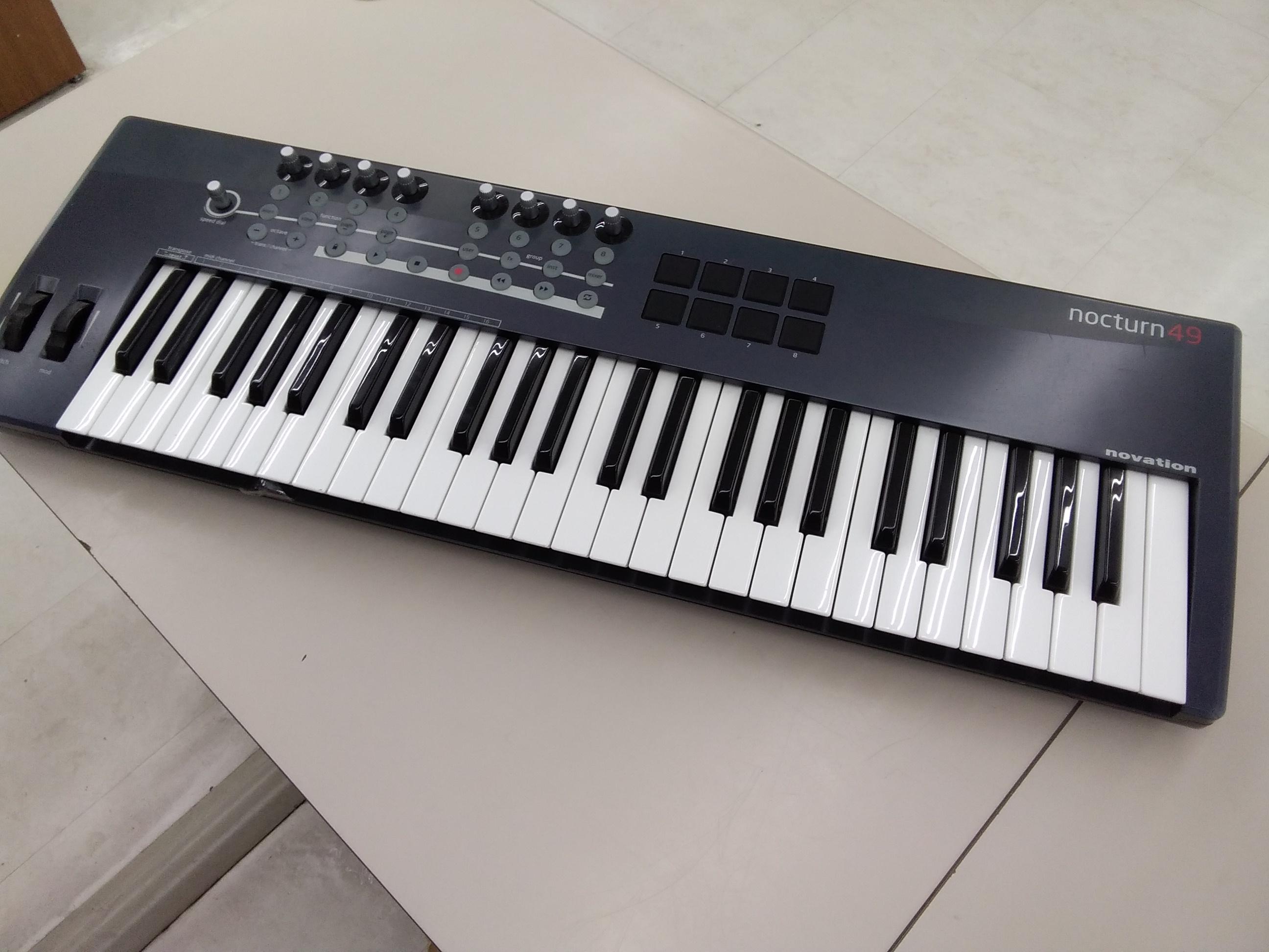 NOCTURN49/MIDIキーボード|NOVATION