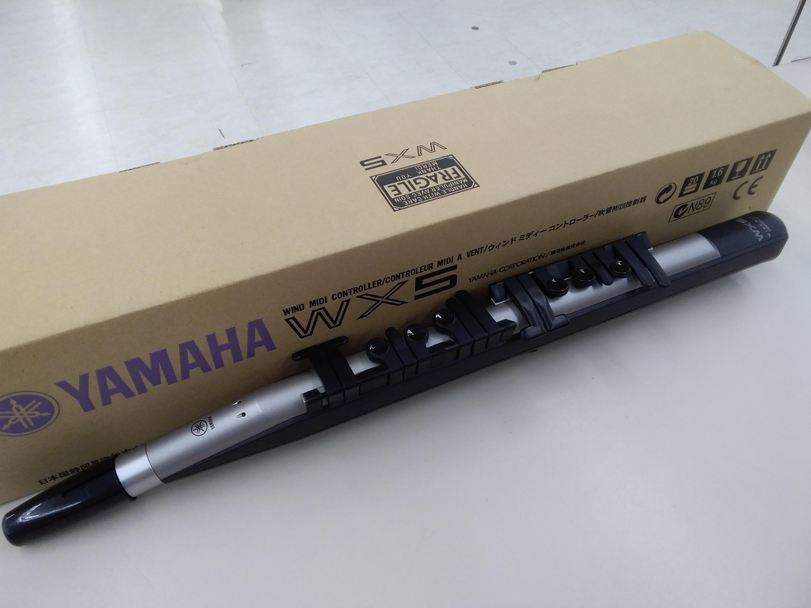 (ジャンク)WIND MIDIコントローラー/WX5|YAMAHA