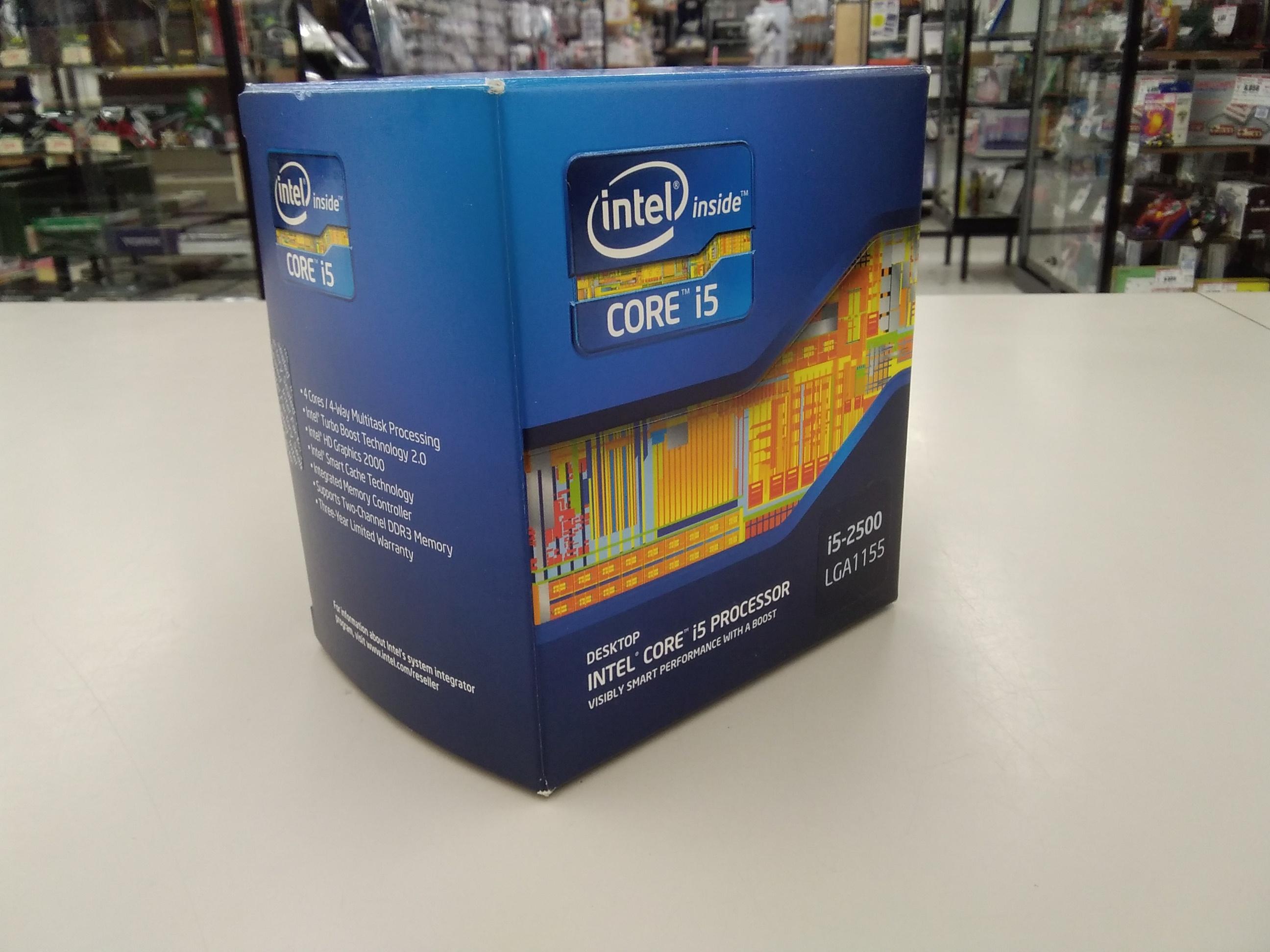 CORE I5-2500/SR00T|INTEL