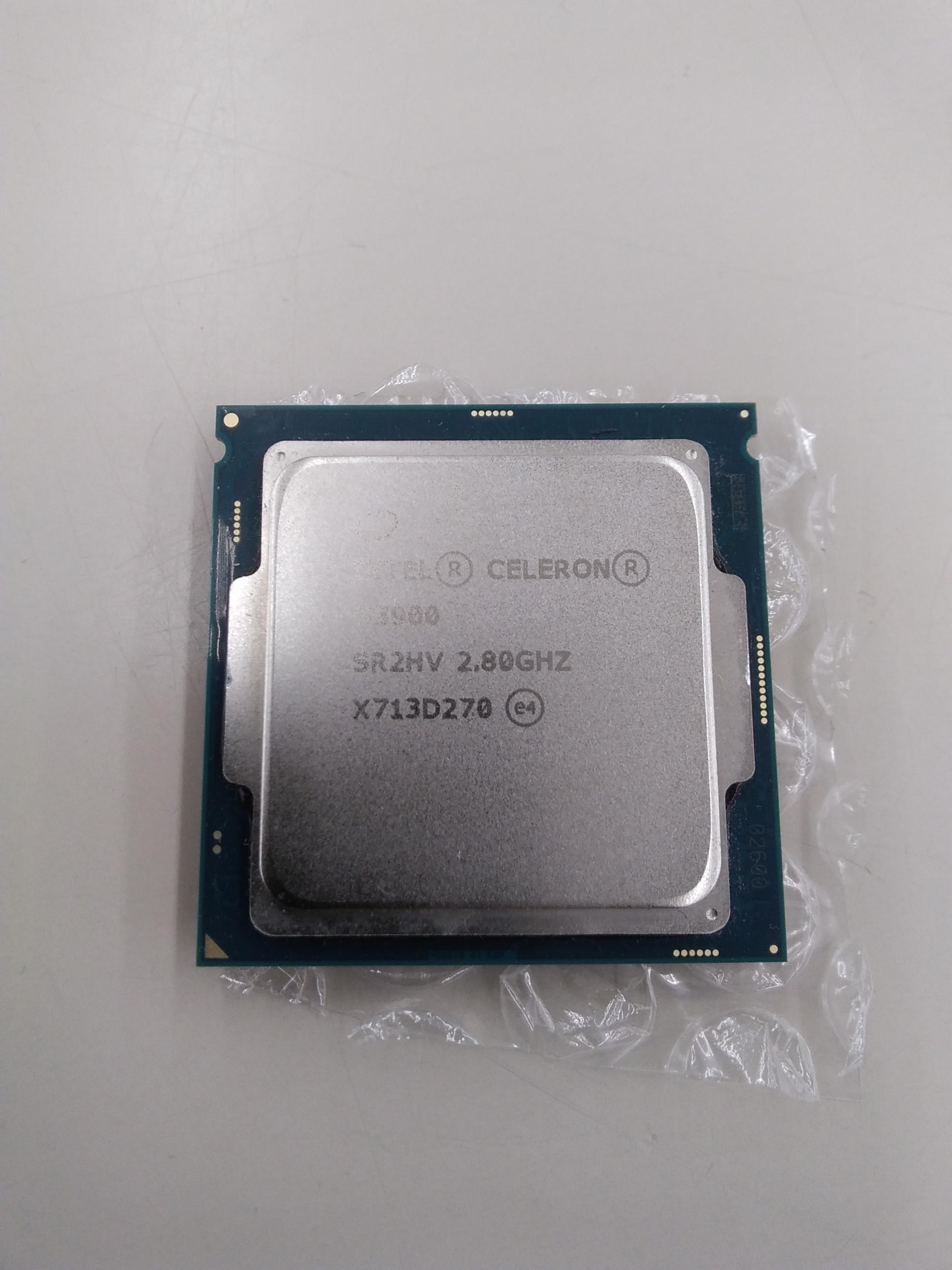 CPU/CELERON G3900|INTEL