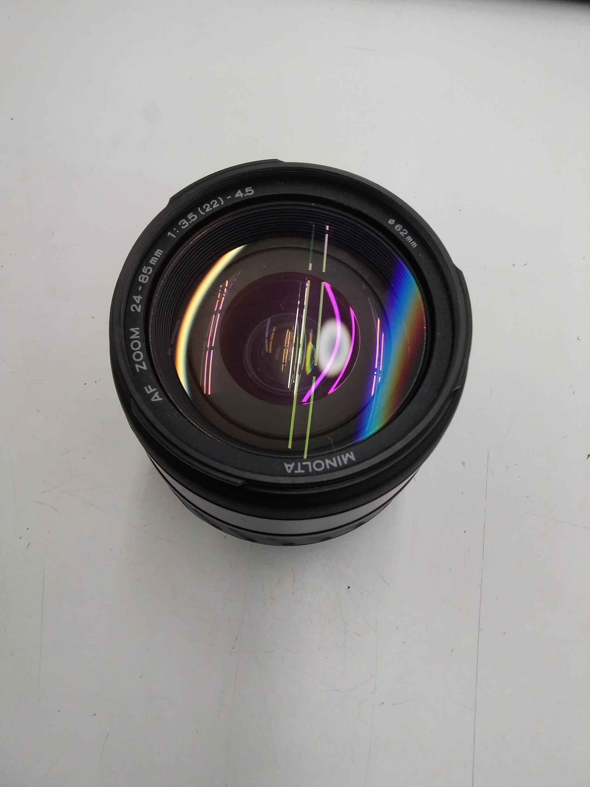 AF ZOOM 24-85MM 1:3.5-4.5/カメラレ|MINOLTA