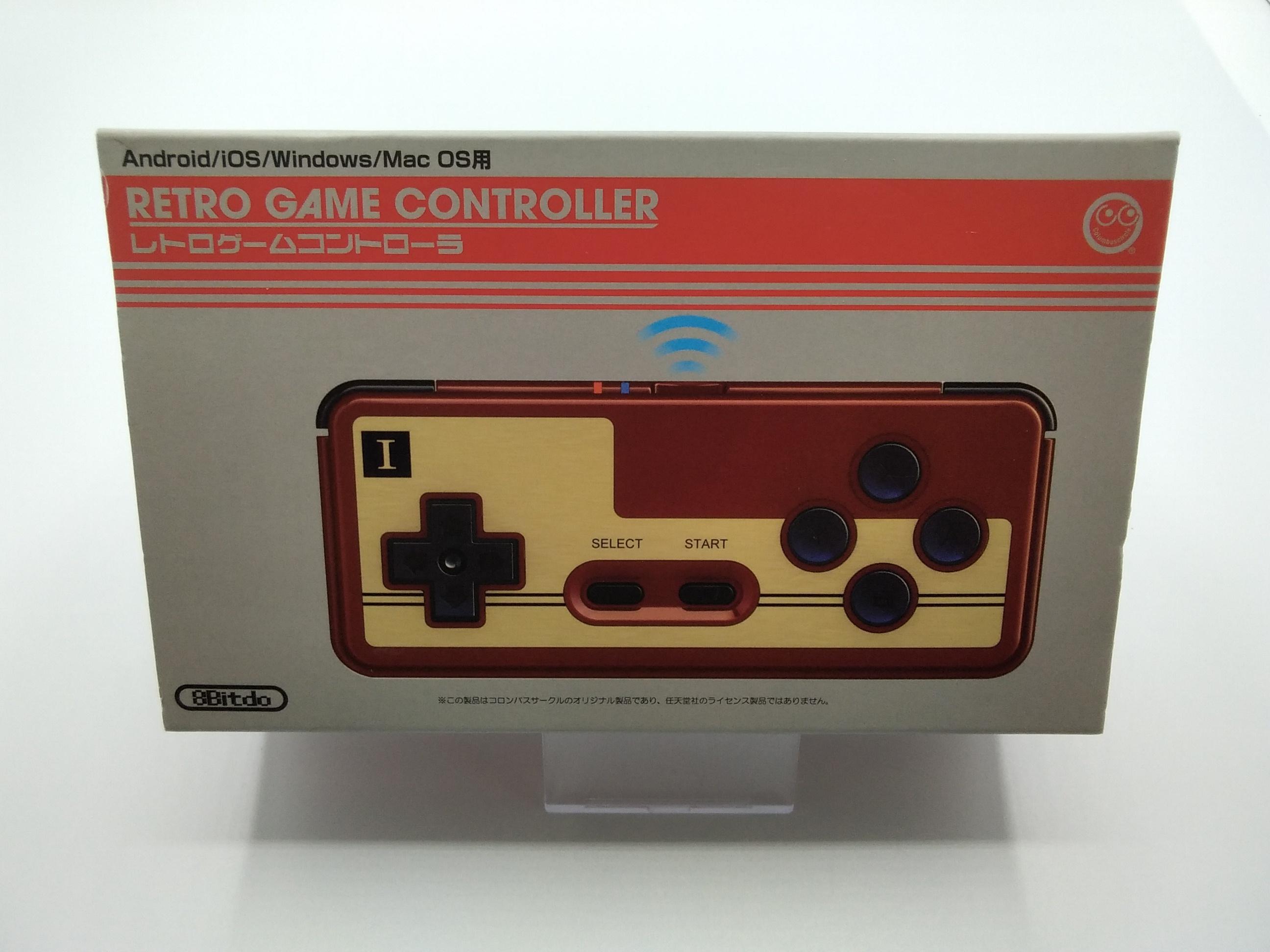レトロゲームコントローラー コロンバスサークル