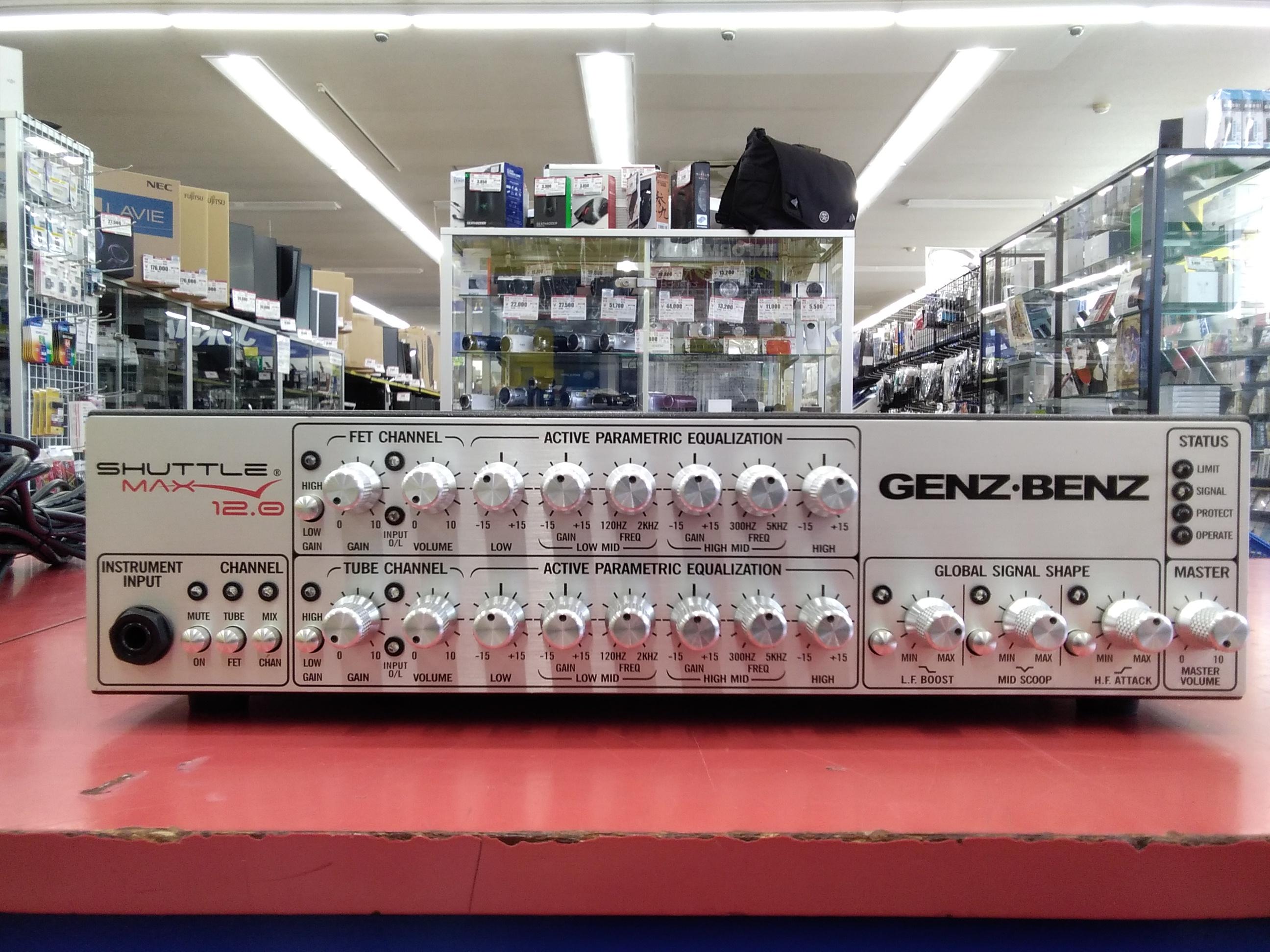 ベースヘッドアンプ GENZ・BENZ