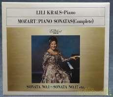 リリー・クラウス モーツアルト:ピアノ・そなた全集(6枚組)|ソニー