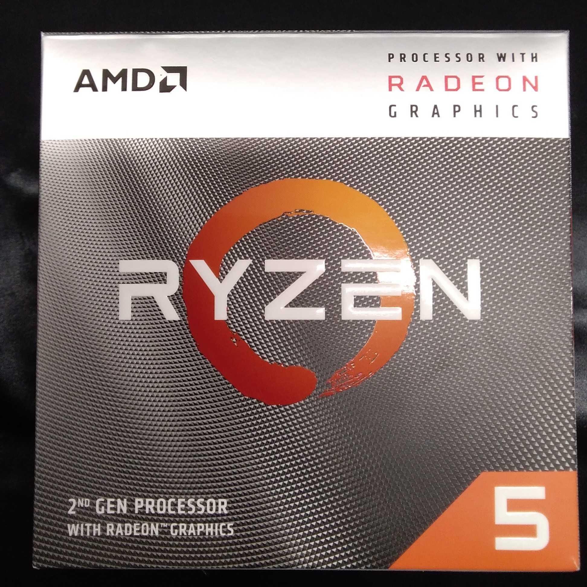Ryzen5 3400G 3.7GHz 知っているのかRyz|AMD