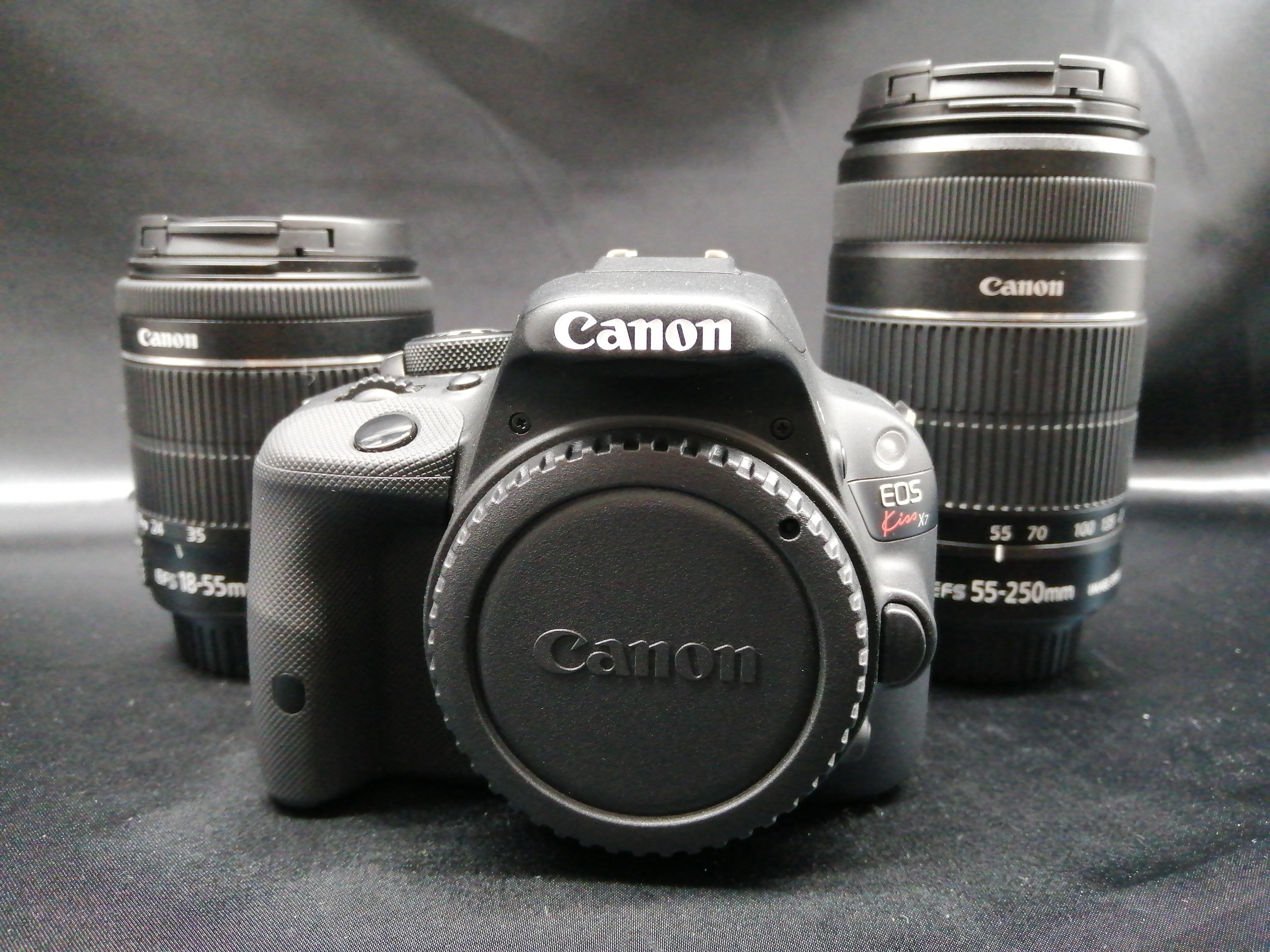 デジタル一眼レフWズーム|CANON