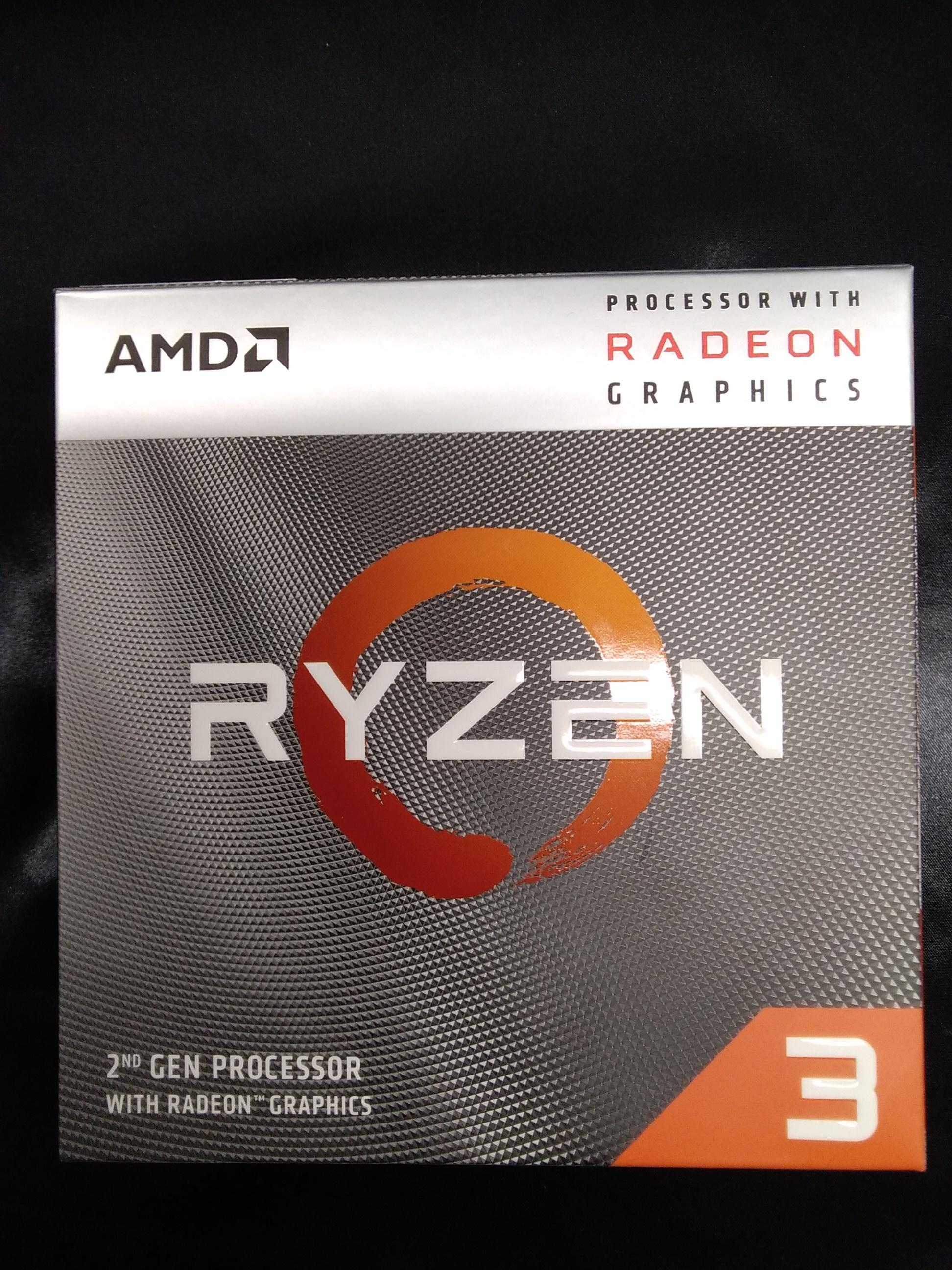 Ryzen3 3200G 3.6GHz 知っているのかRyz|AMD