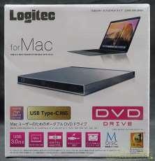 ■未開封■Mac対応、外付DVDドライブ!|LOGITEC