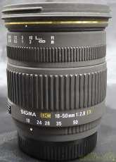Kマウント、18-50MM 1:2.8A EX DC|SIGMA