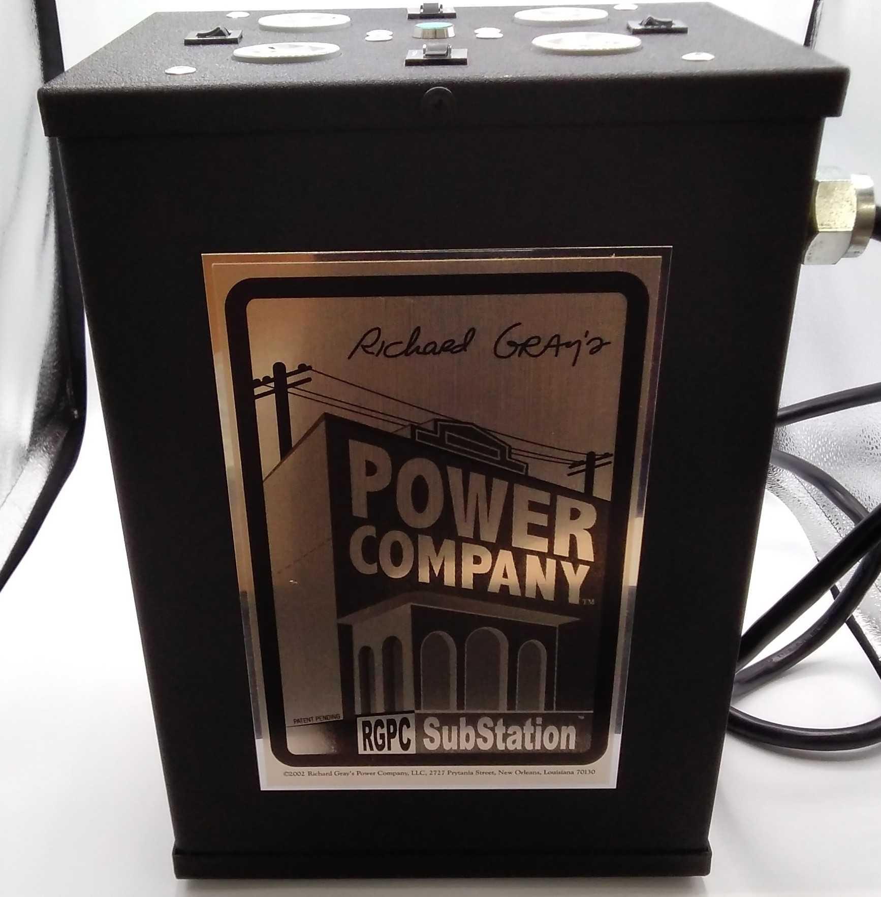 クリーン電源|RICHARD GRAY'S POWER COMPANY