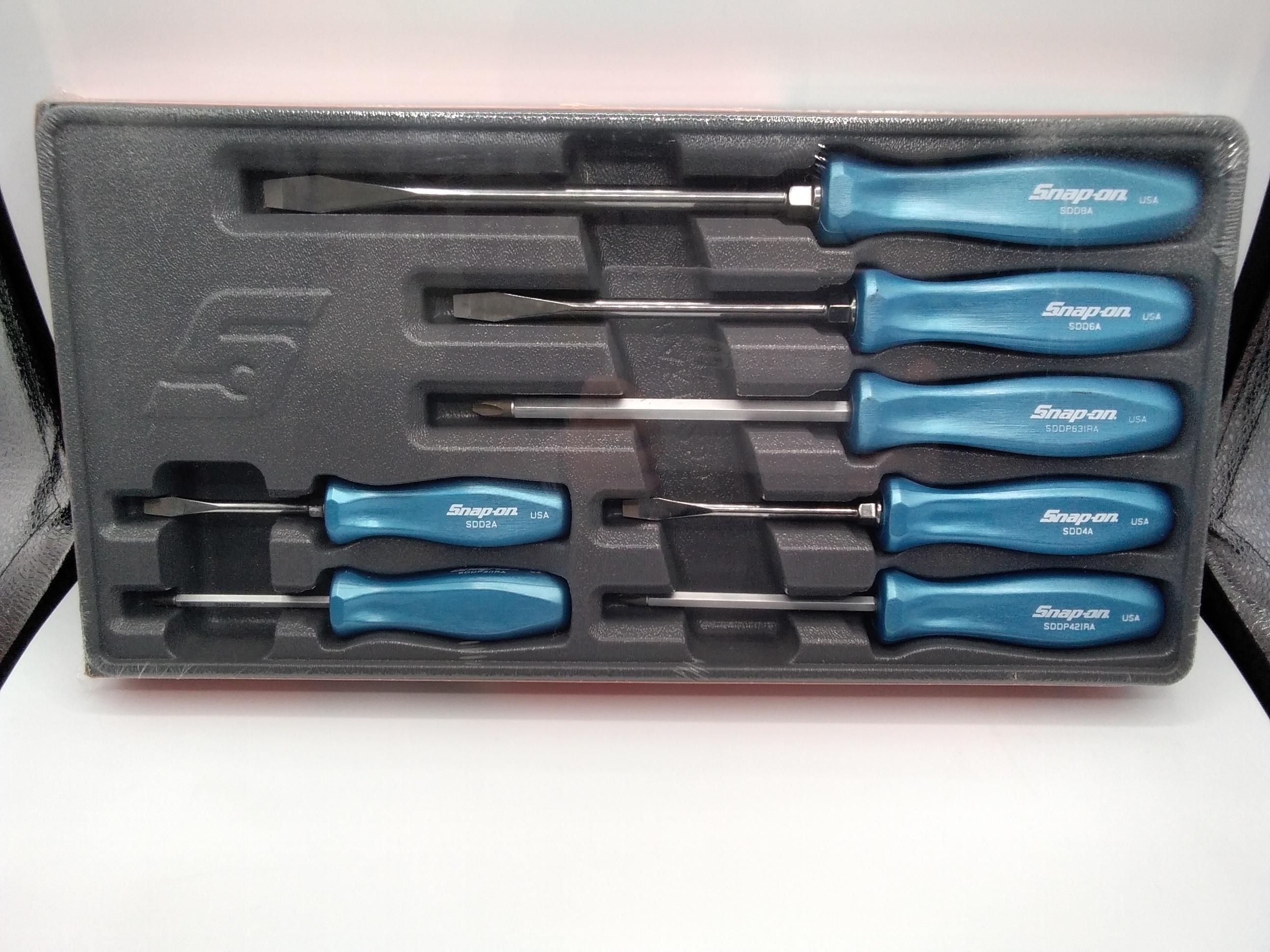 樹脂製スクリュードライバーセット 7ピース|SNAP-ON