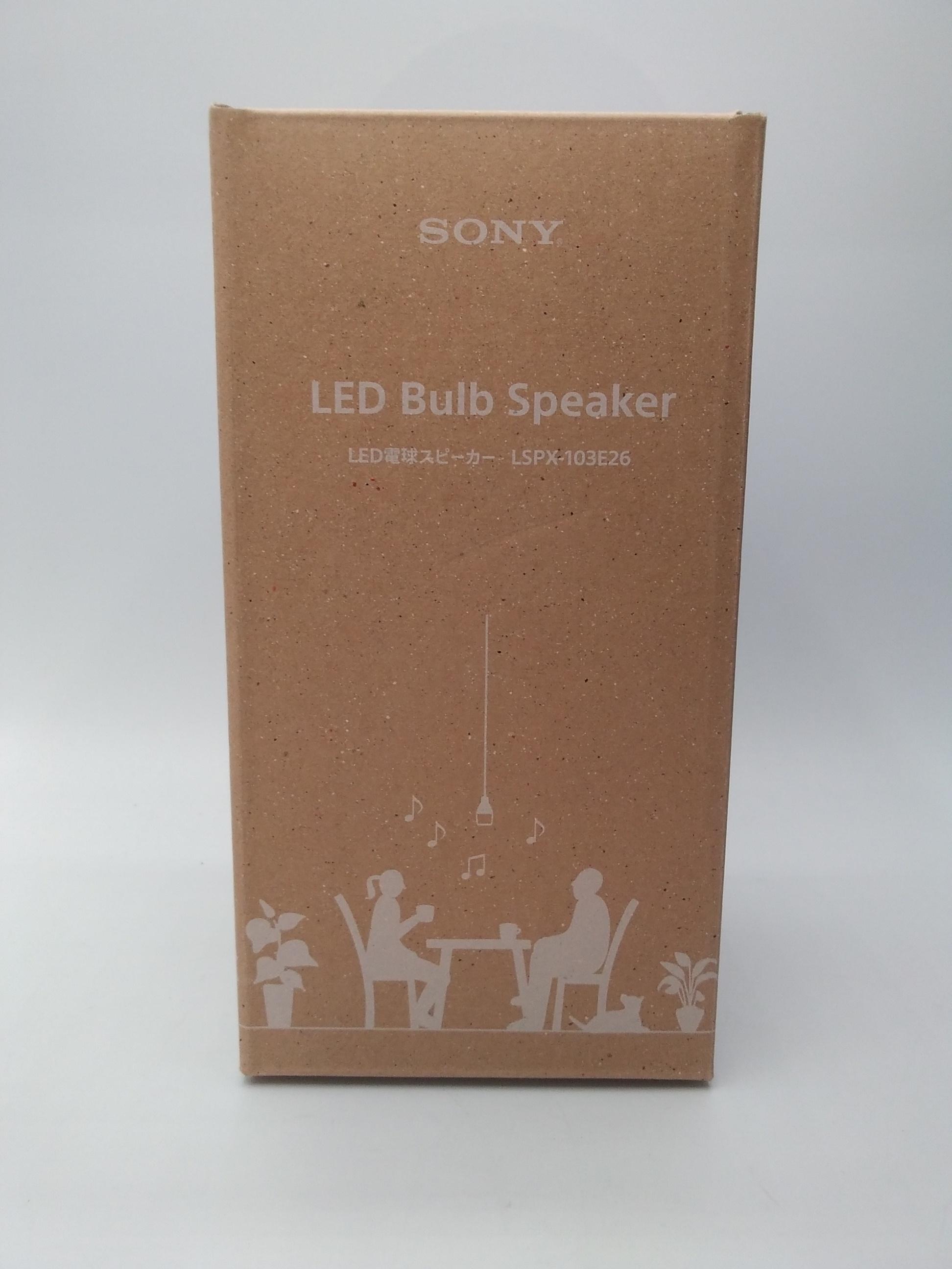 ★未使用品★ LED電球スピーカー|SONY
