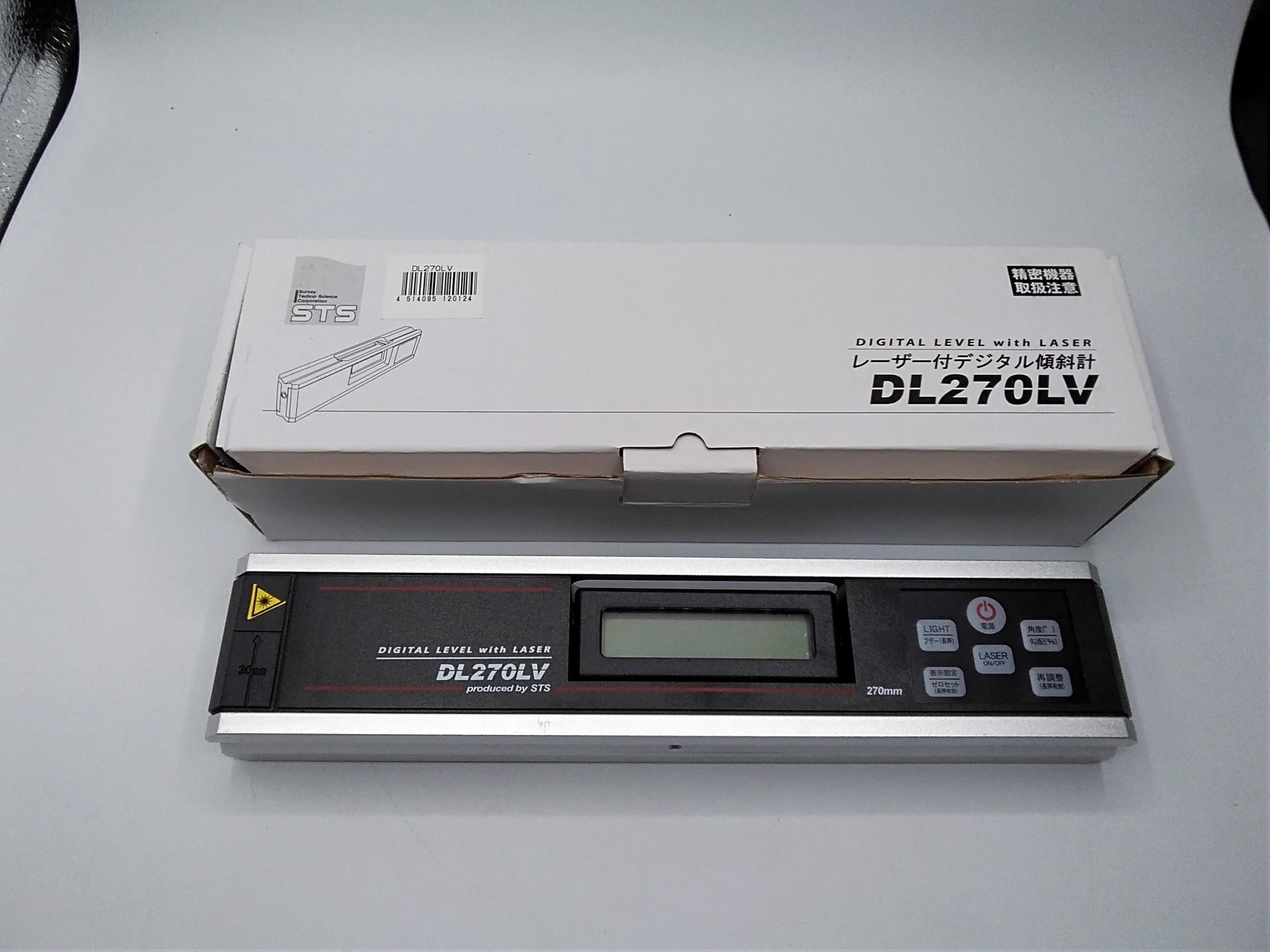 レーザー付デジタル傾斜計|STS
