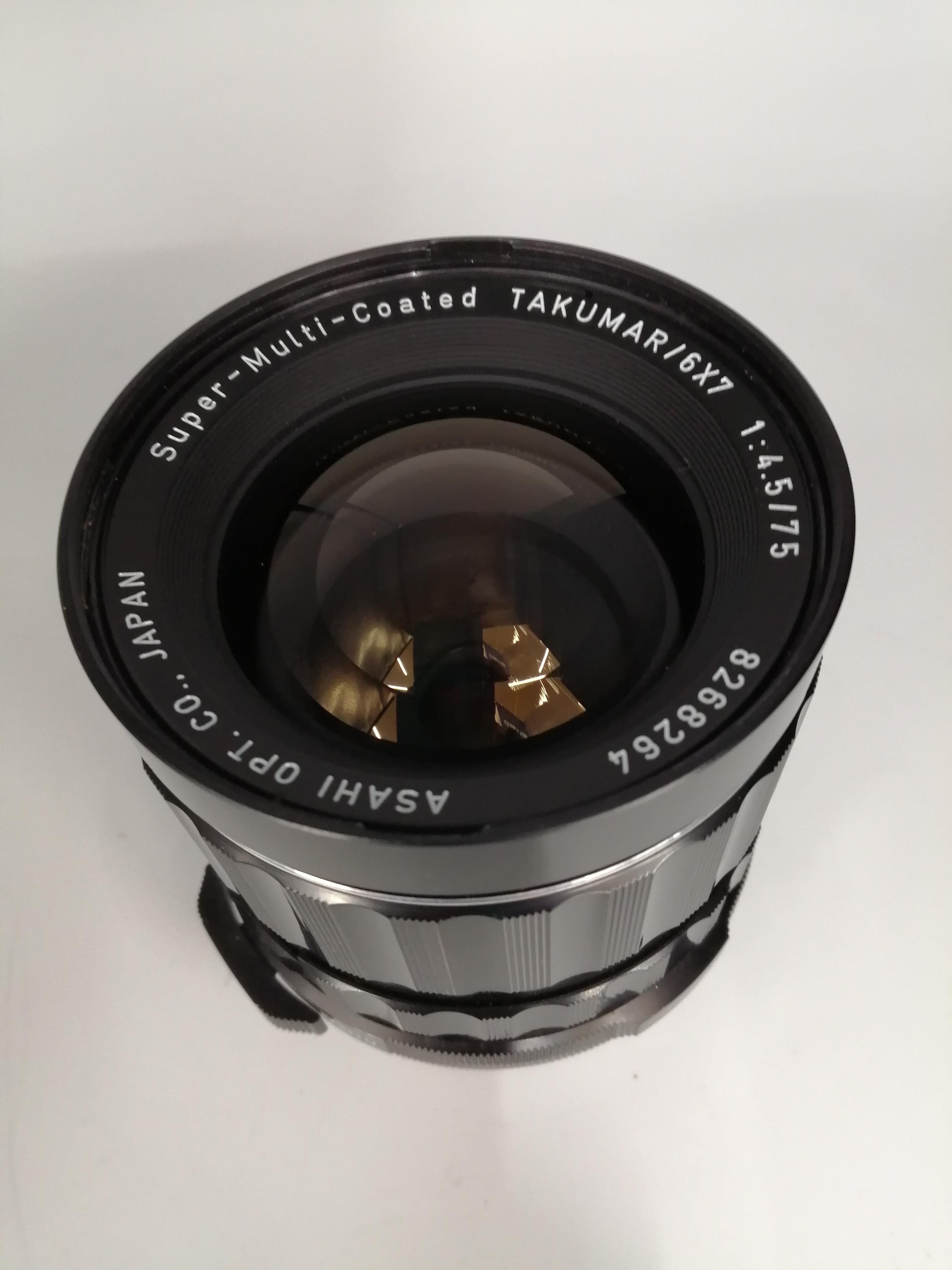 PENTAX中判カメラ用レンズ ASAHI PENTAX