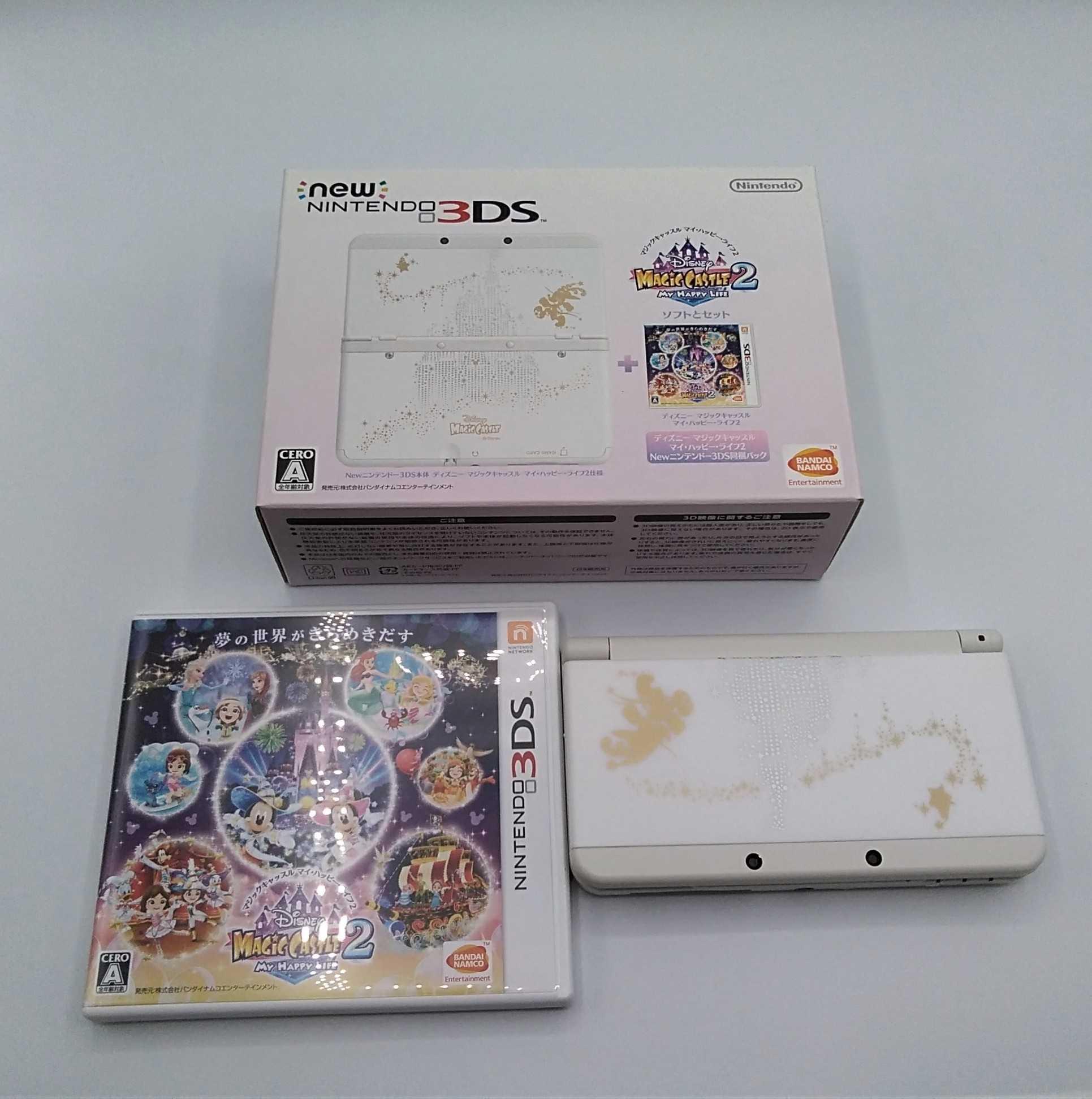 NEW 3DS(ディズニーモデル)|NINTENDO