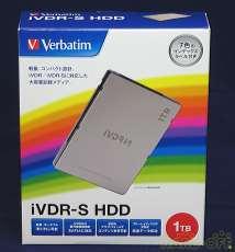【iVDR/iVDR-S対応】 VERBATIM