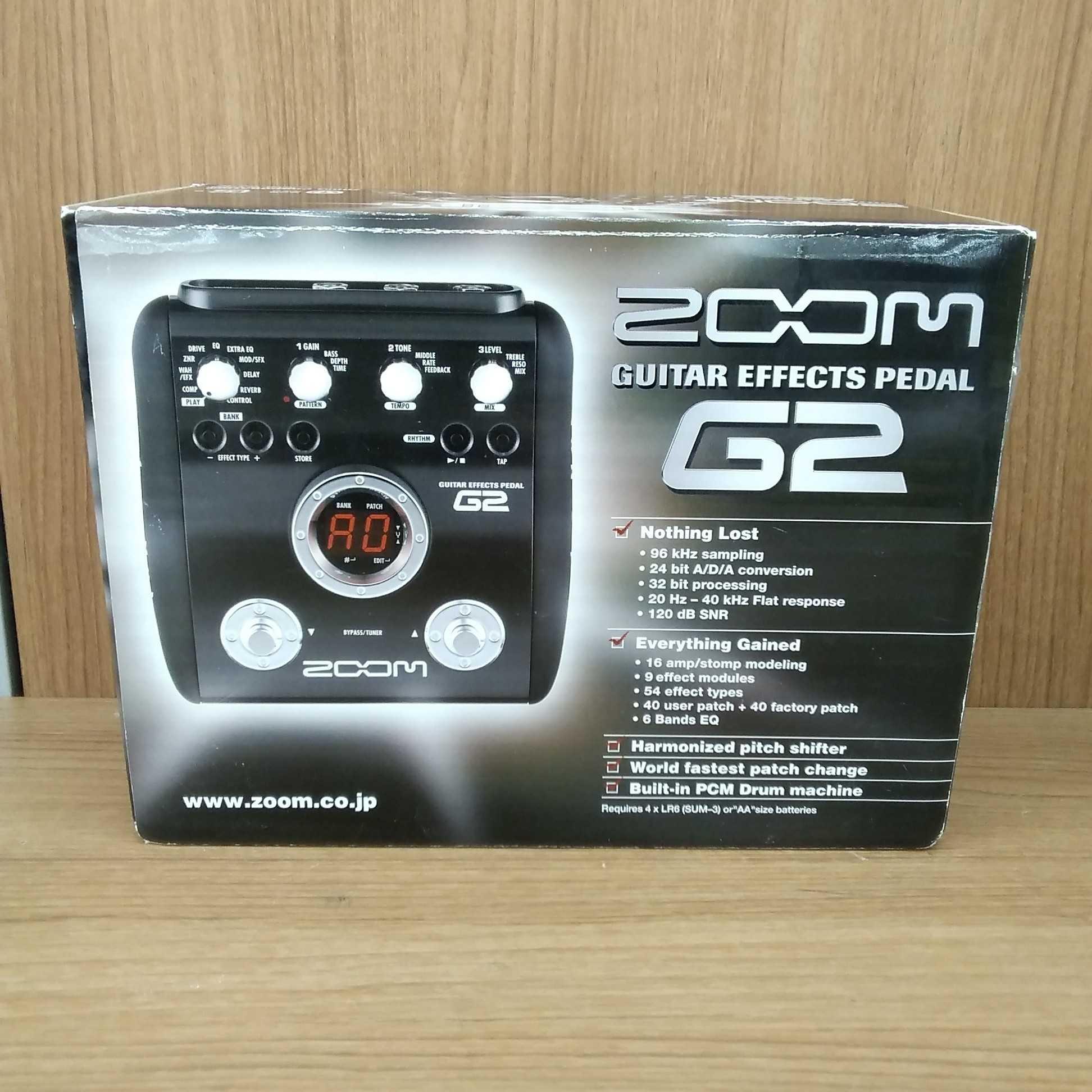 【ZOOM】マルチエフェクター|ZOOM