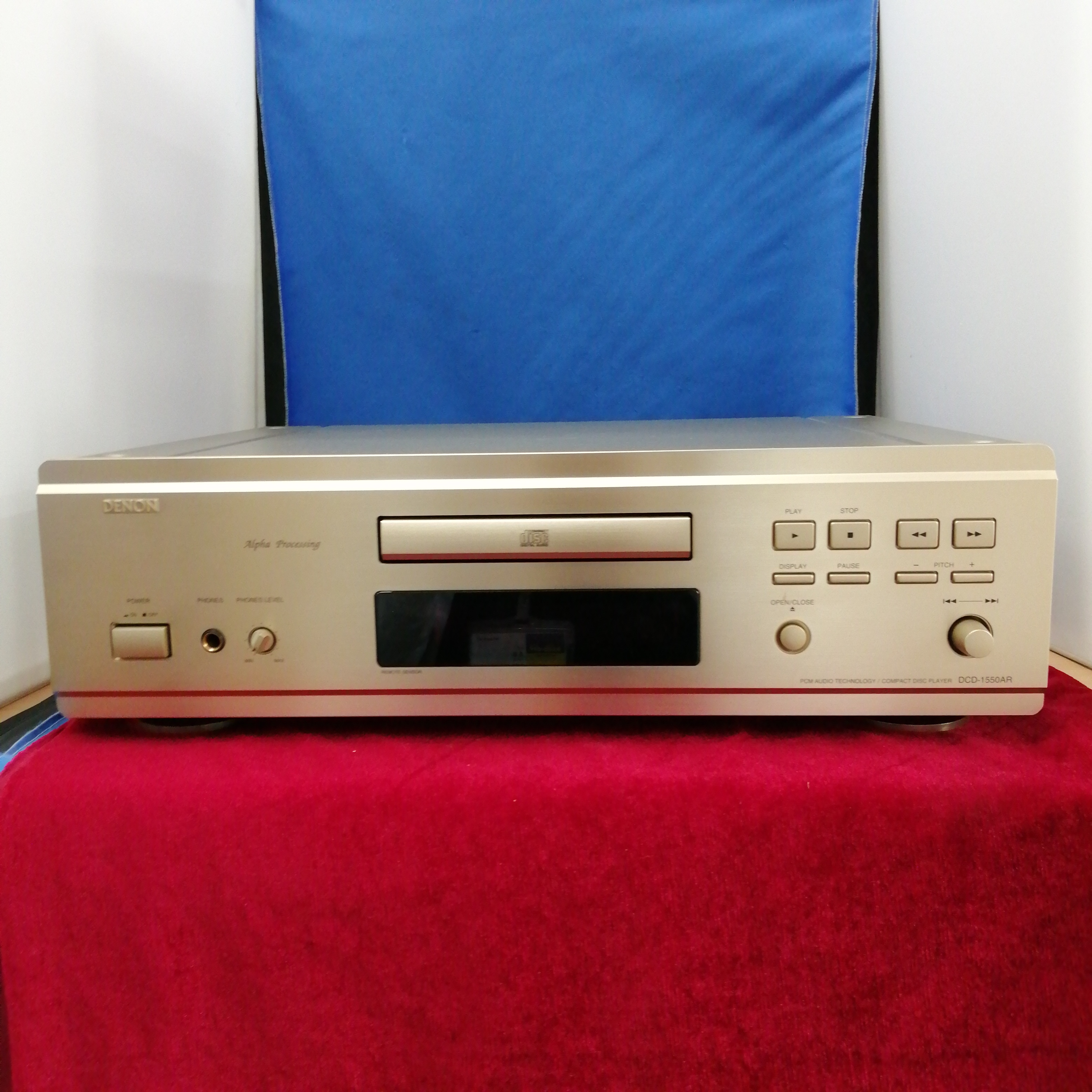 CDプレーヤー/DCD-1550AR DENON