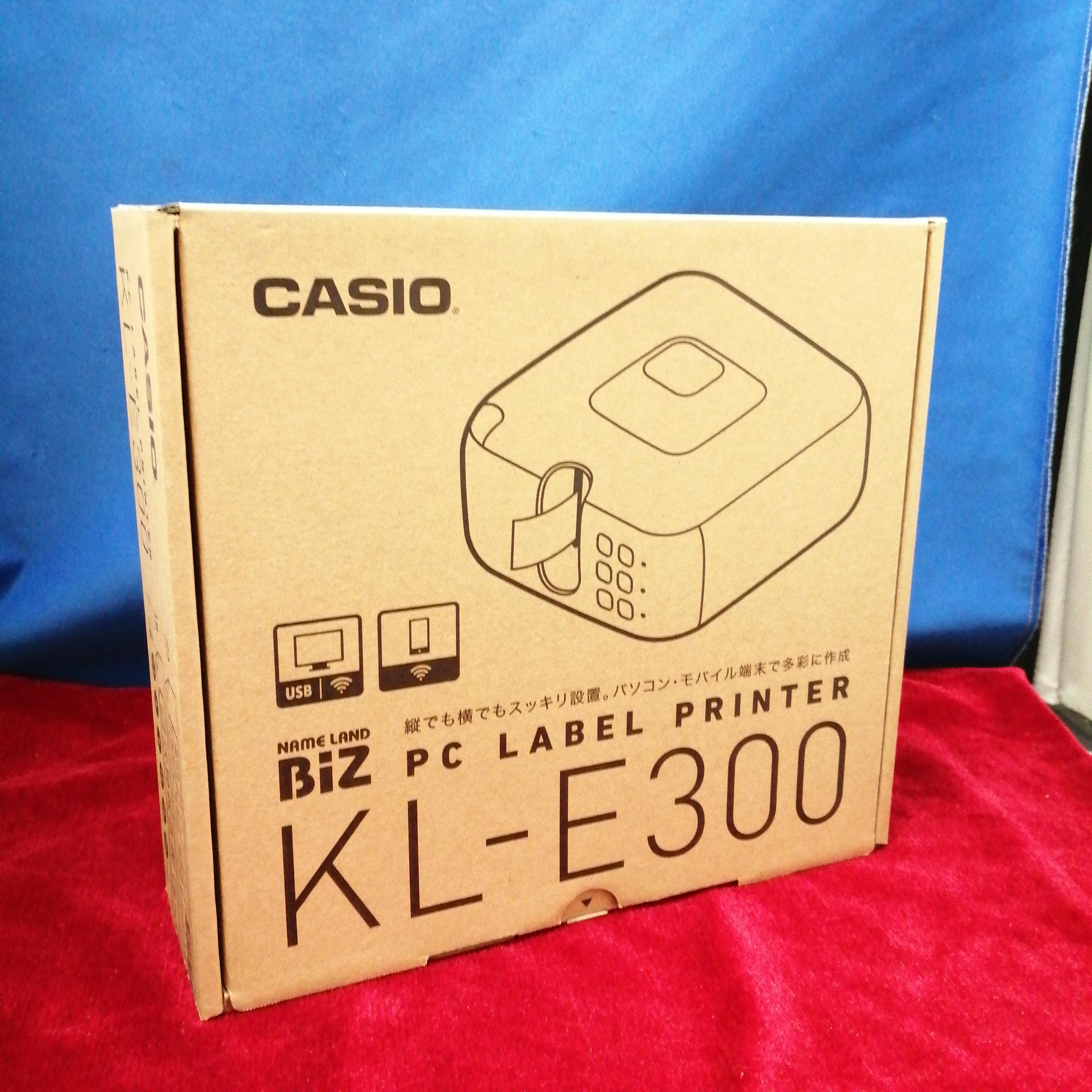 KL-E300/ラベルプリンター CASIO