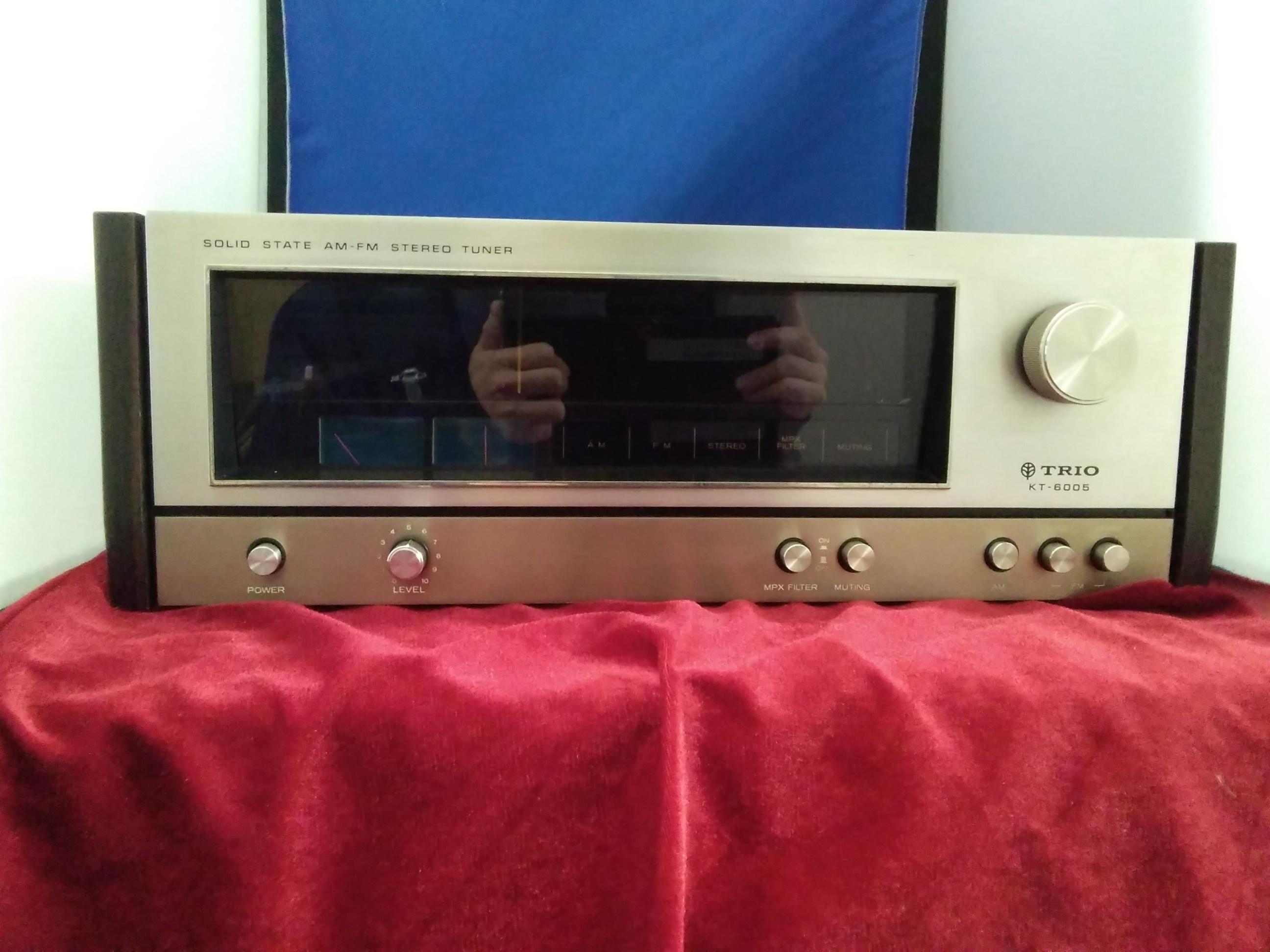 KT-6005/FM/AMチューナー TRIO