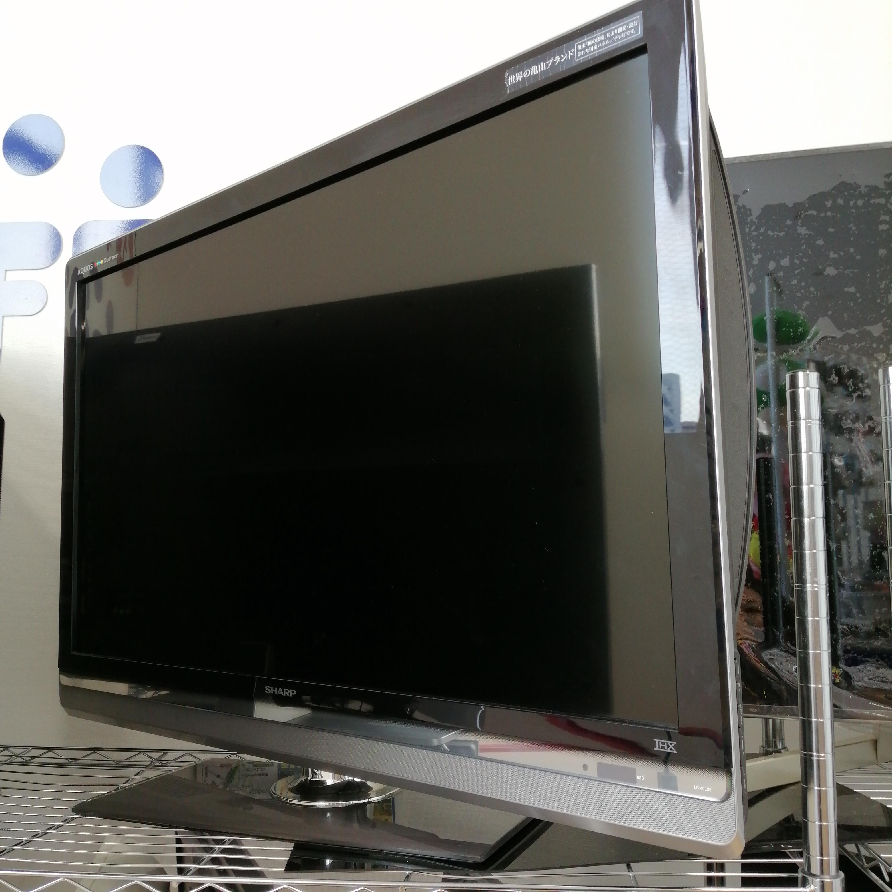 LC-40LX3/液晶テレビ/40インチ|SHARP