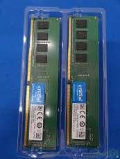 RAM(DDR4-2400/8GB×2) Crucial