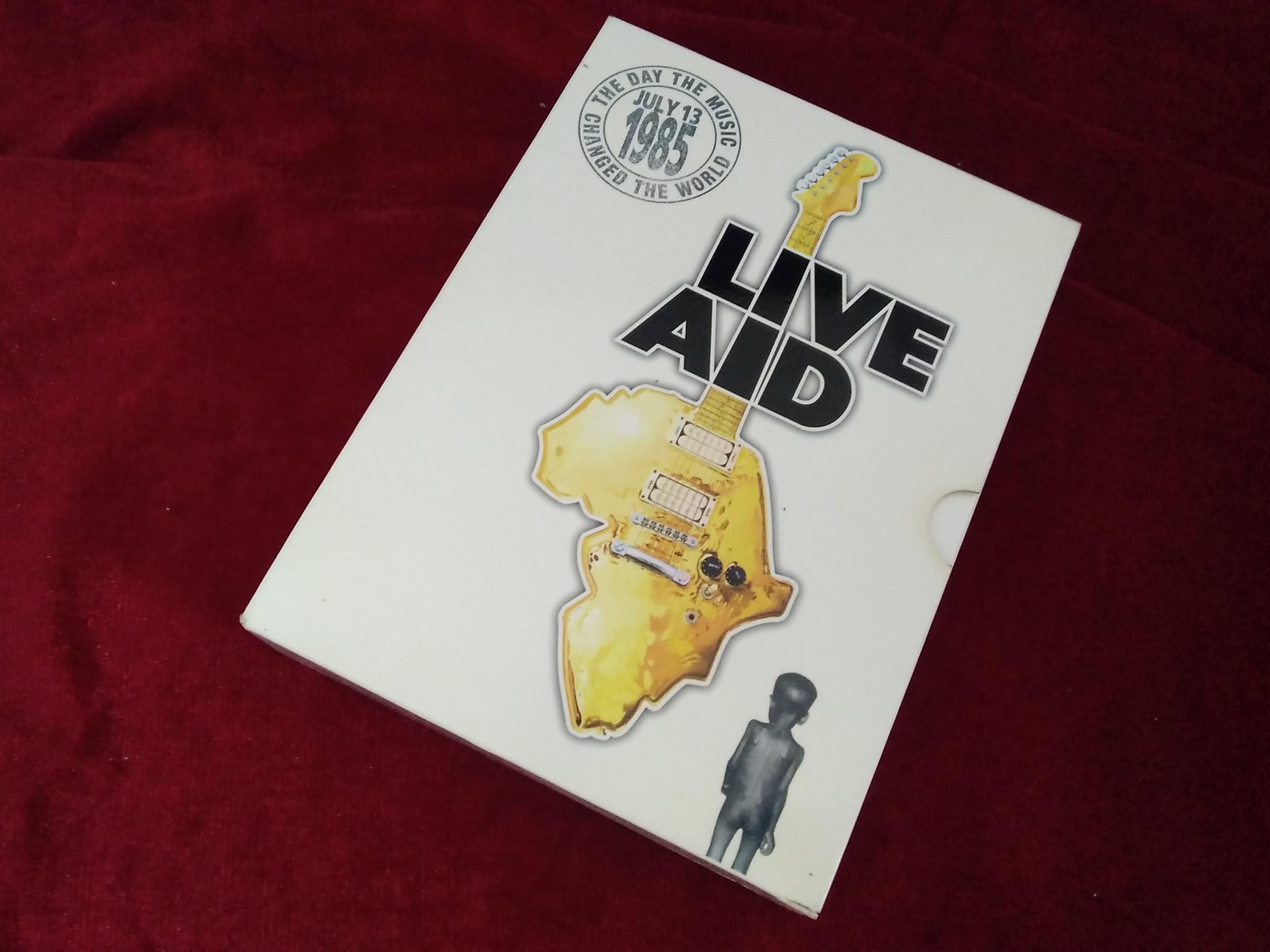 LIVE AID/初回限定版|DVD/洋楽/オムニバス