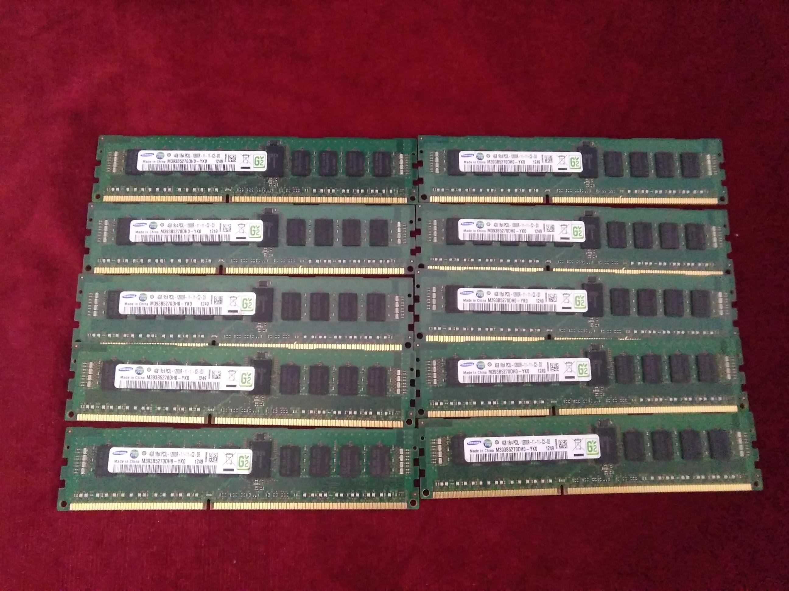 サーバー用RAM/1RX4 PC3L-12800R|SAMUSUNG