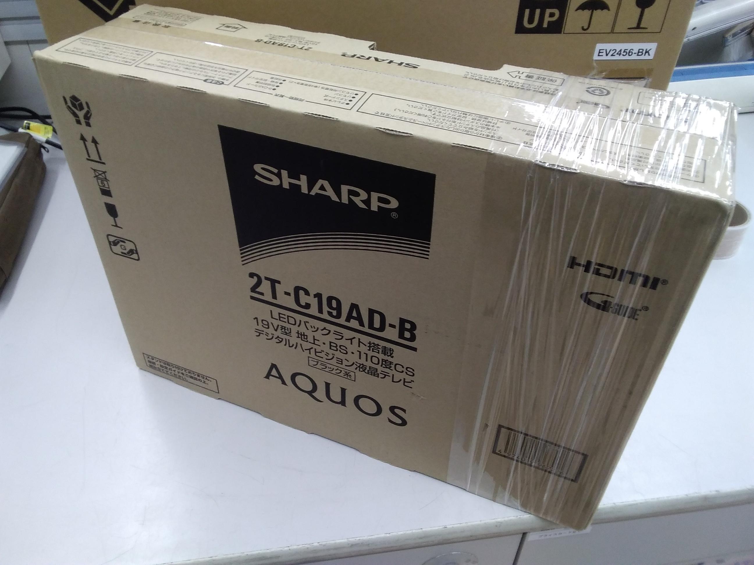 (未開封)2T-C19AD/液晶テレビ|SHARP