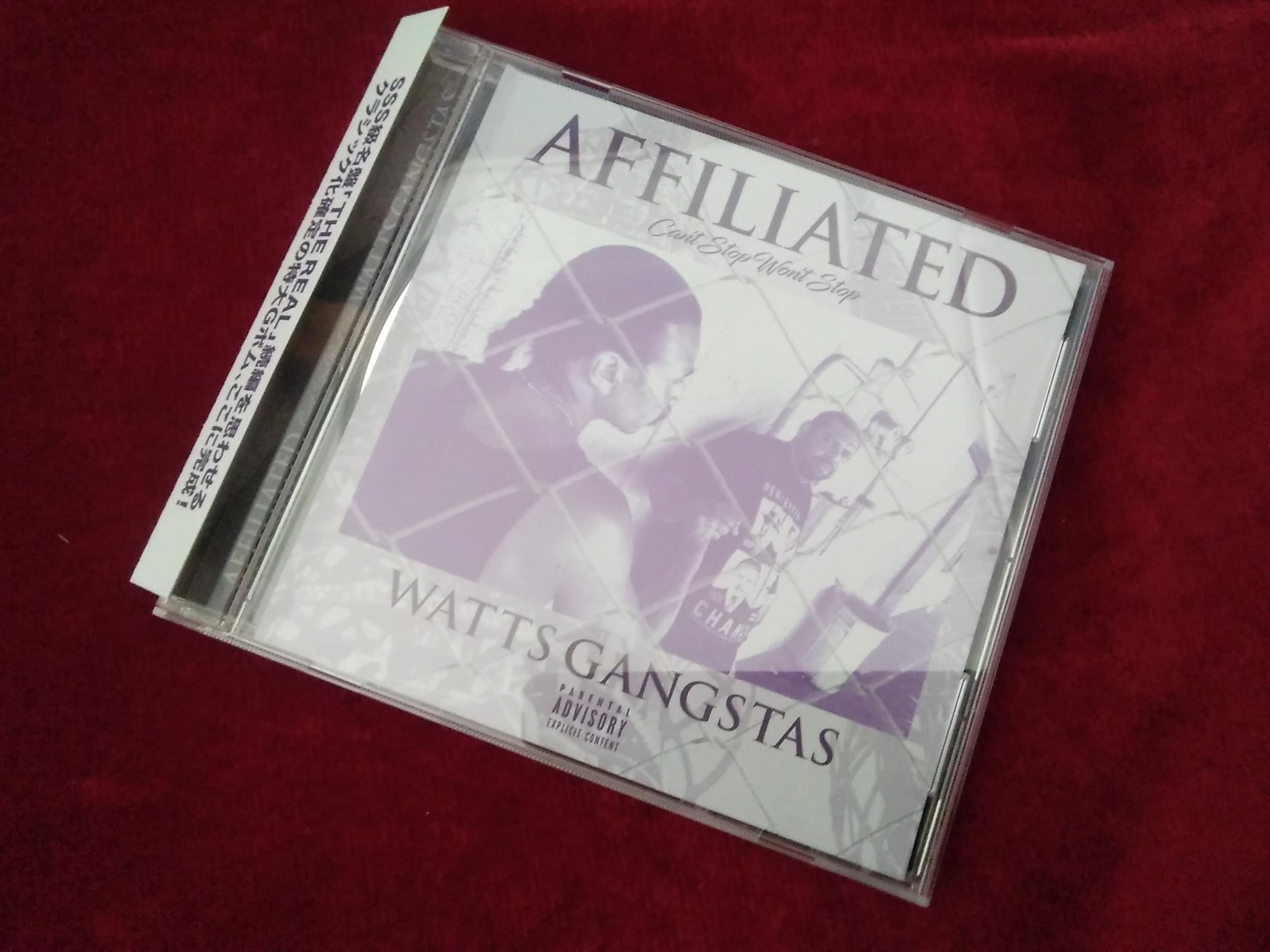 WATTS GANGSTAS/AFFILIATED|洋楽「W」