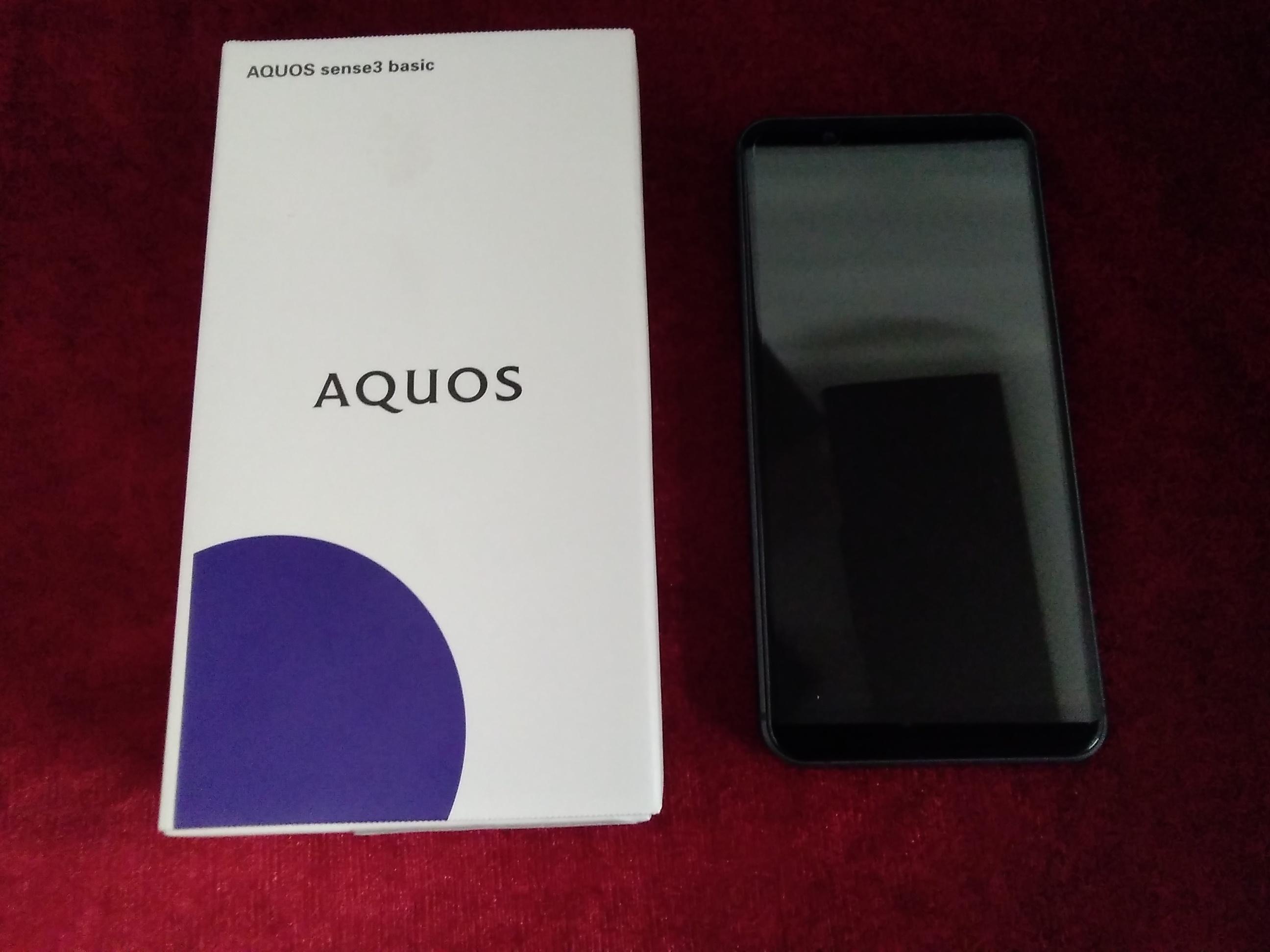 AQUOS sense3 basic/SHV48|SHARP