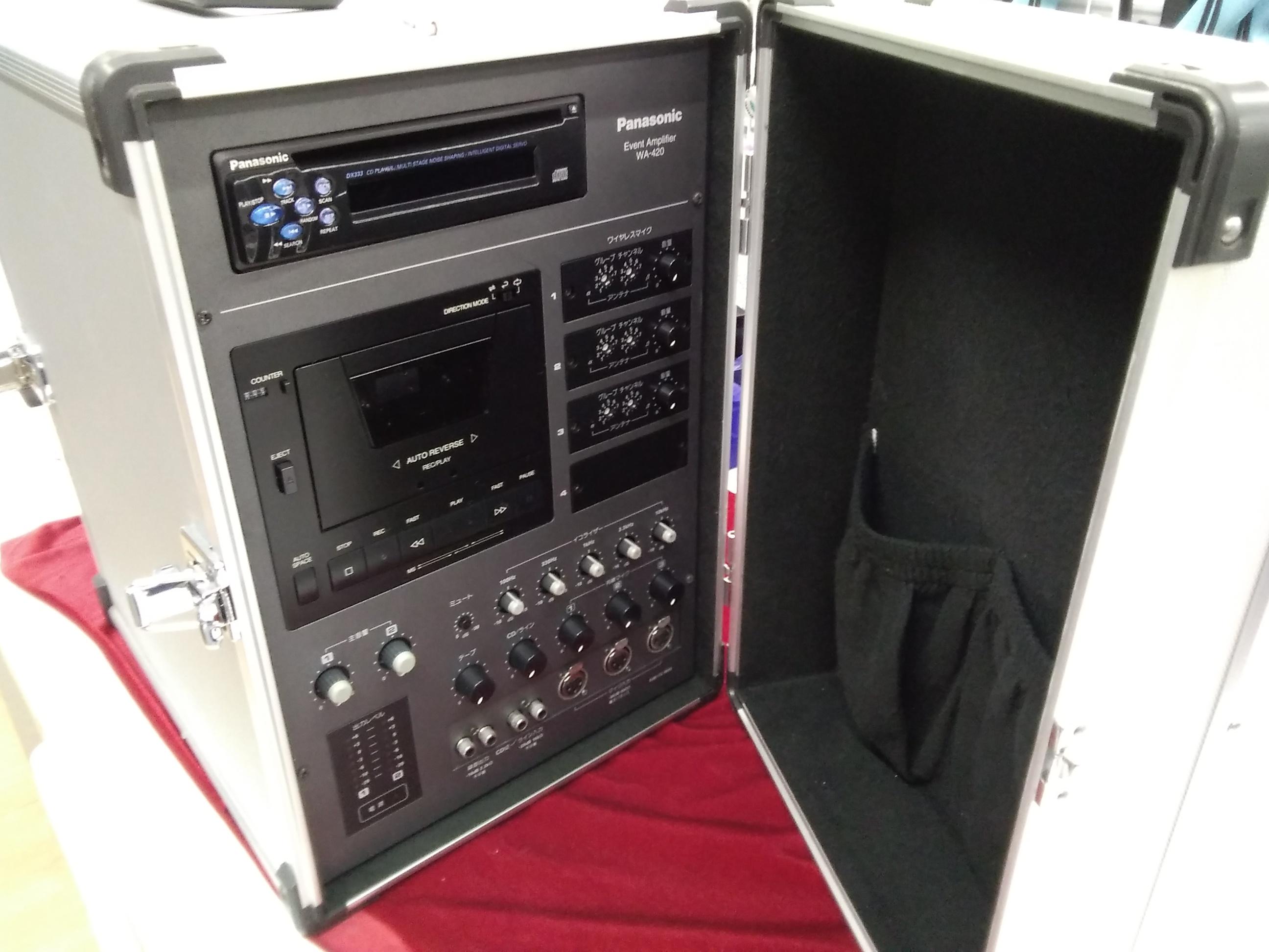 WA-420/PAシステム|PANASONIC